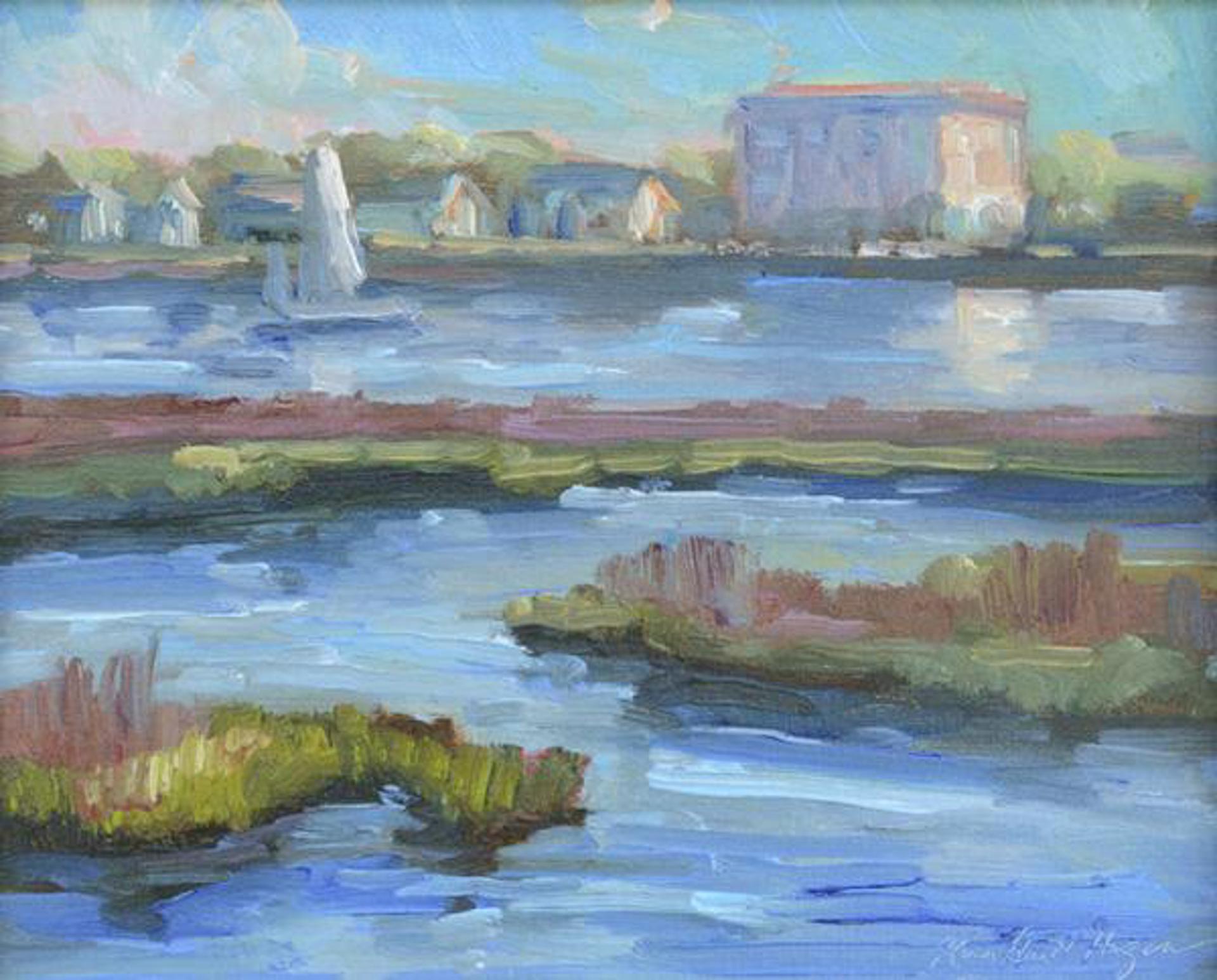 Charleston Harbor by Karen Hewitt Hagan