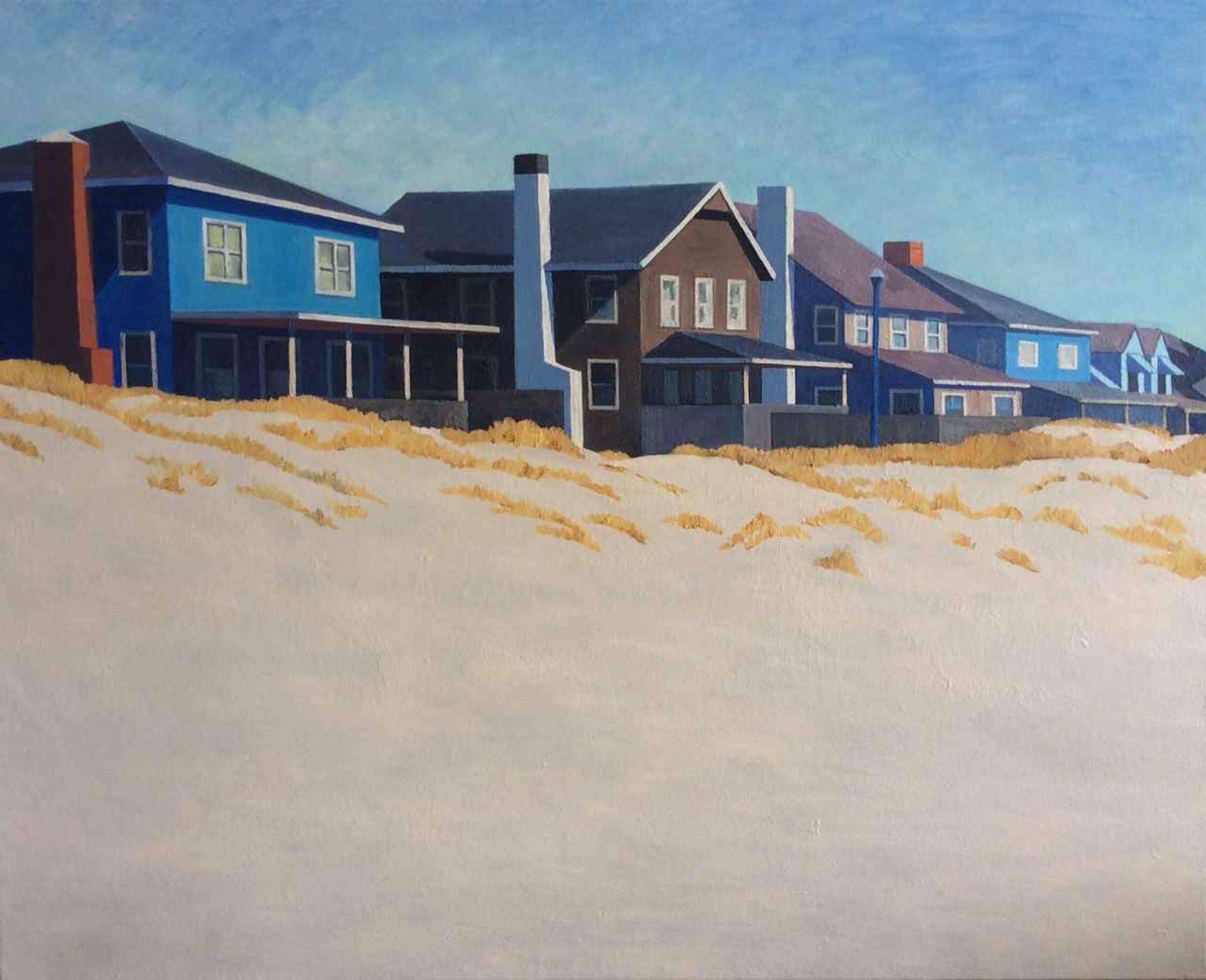 Houses, Atlantic Beach by Peter Butler