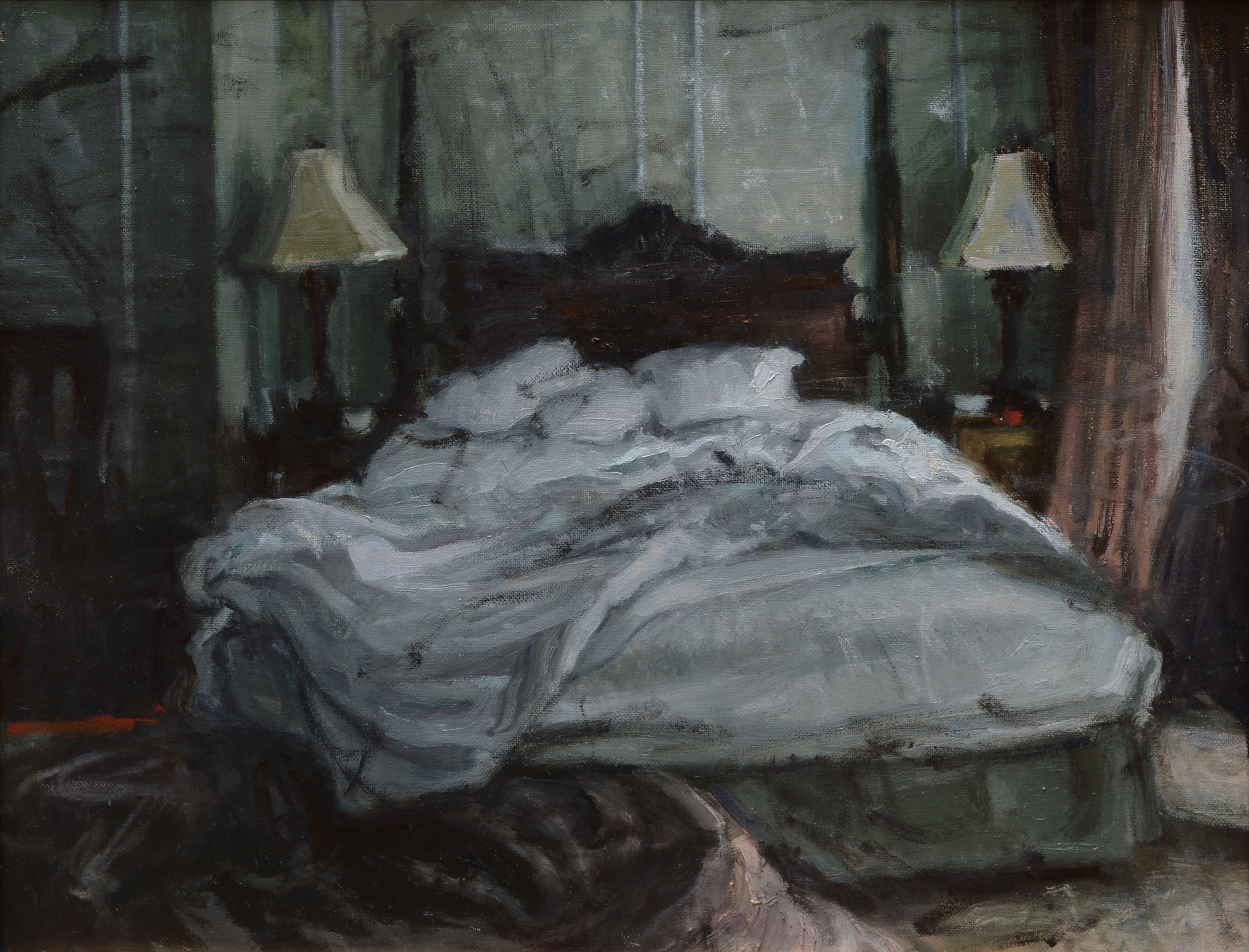 The Bed by Jim Beckner