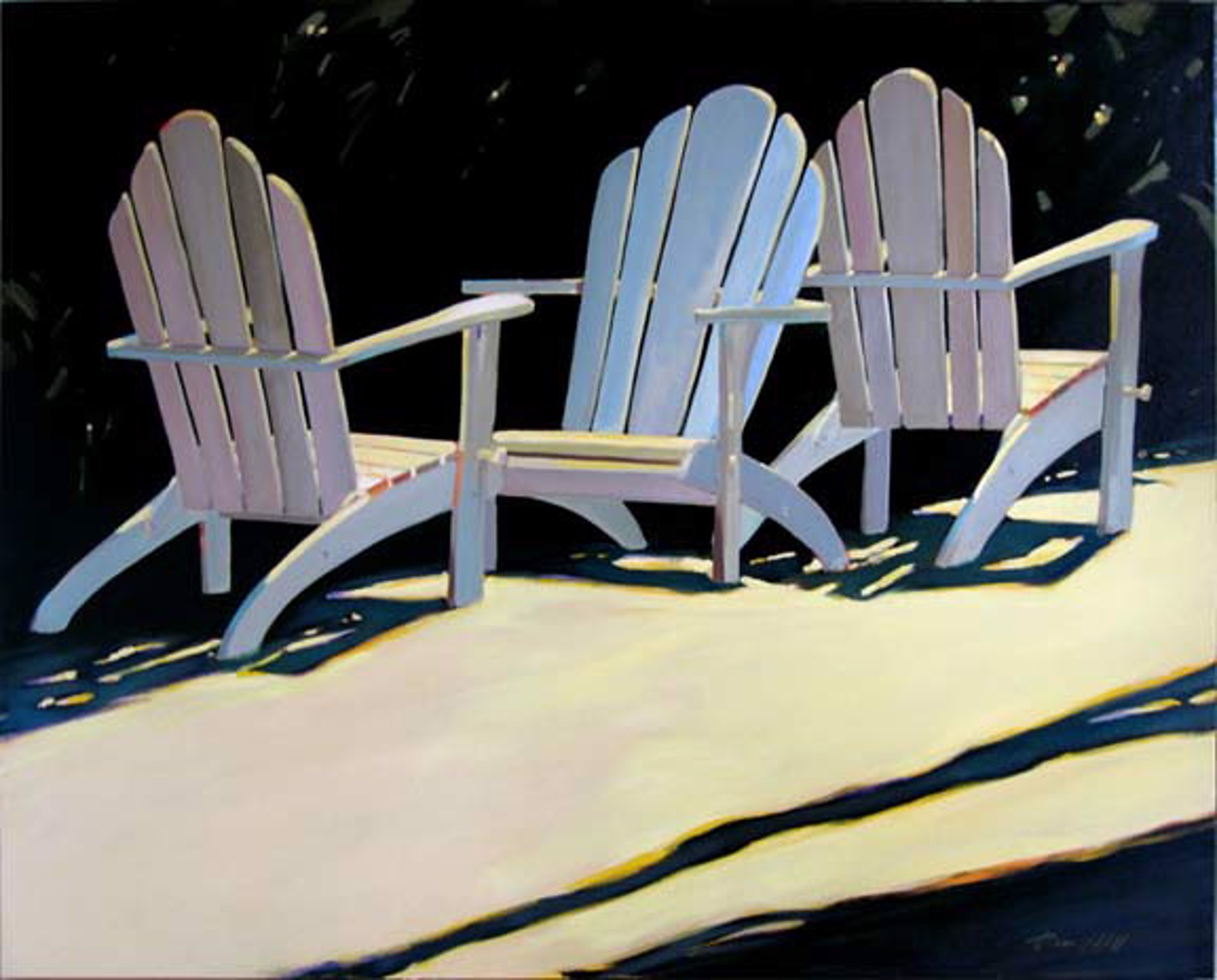 Three Chair Suite by Darrell Hill