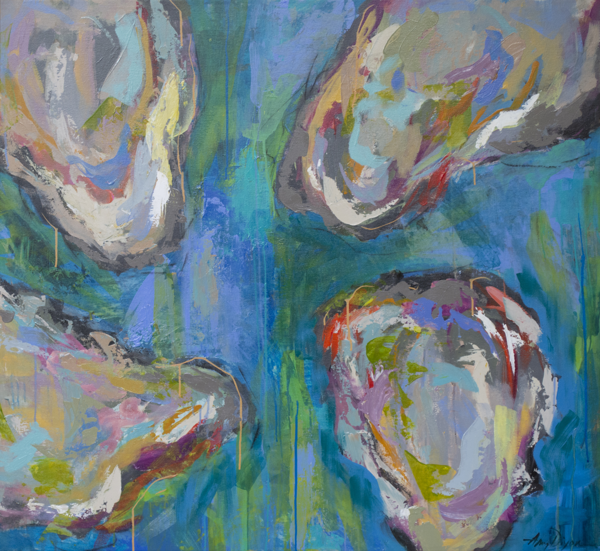 Oyster Craze by Amy Dixon