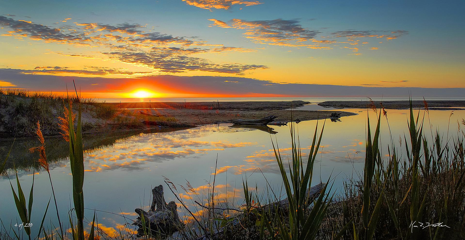 Dunes Inlet by Ken Yoder