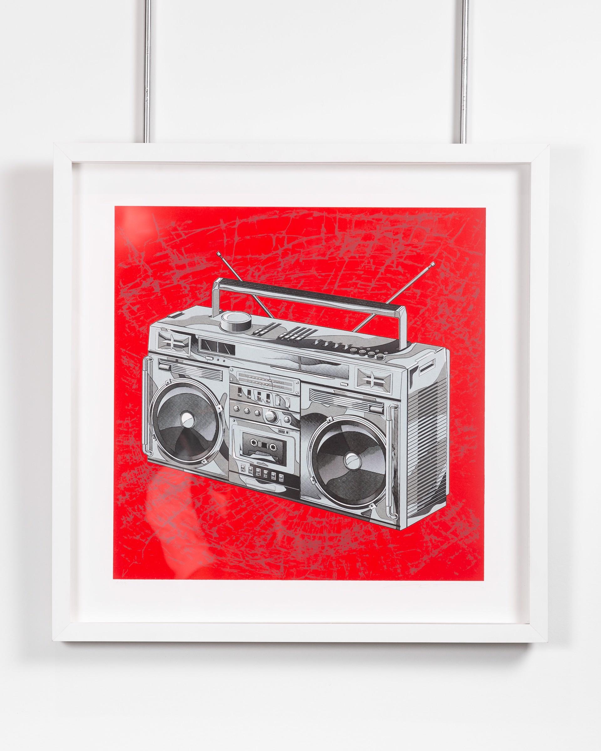 Firecracker Red Box by Lyle Owerko