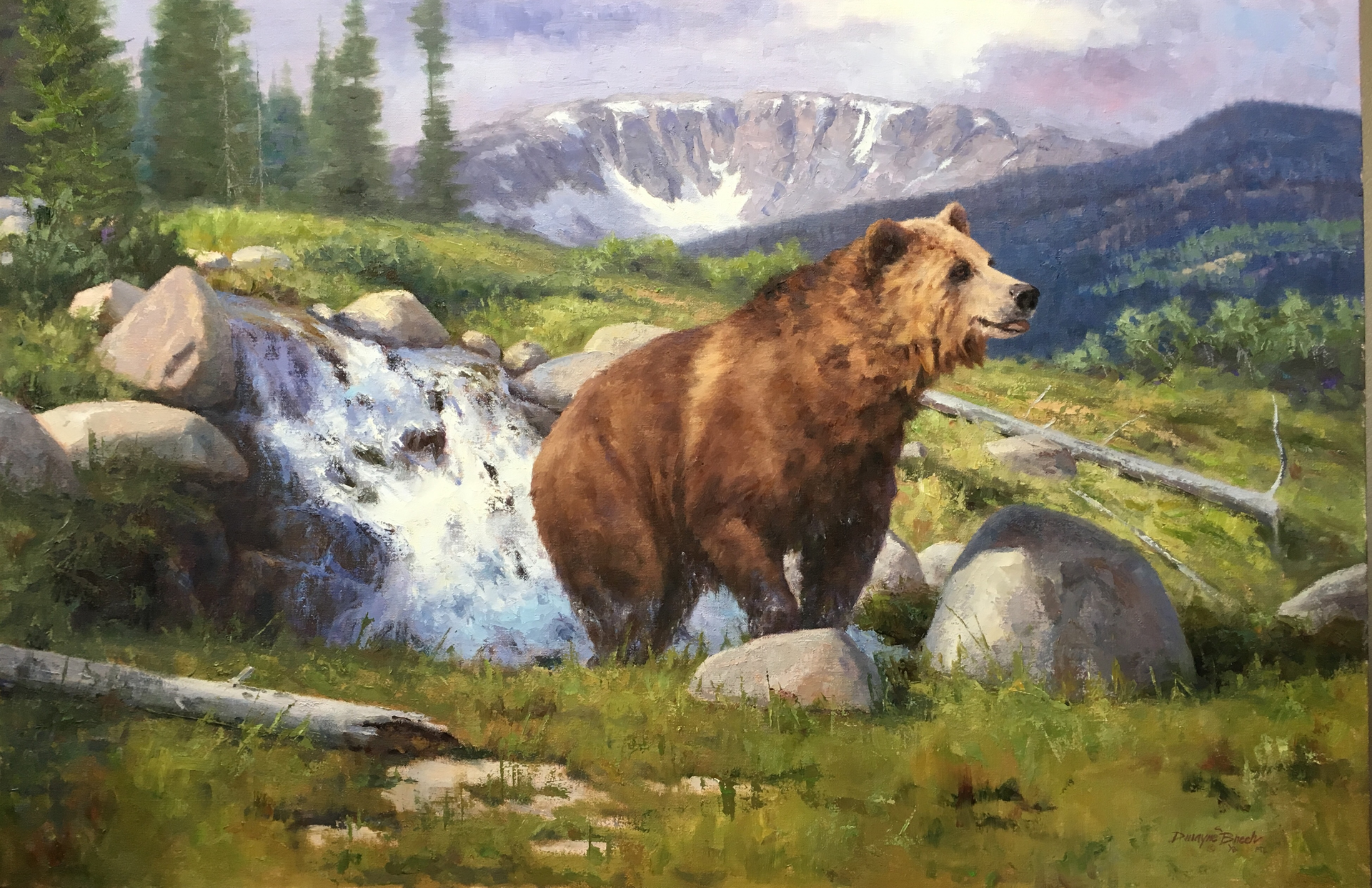 Runoff Refresher (Grizzly) by Dwayne Brech