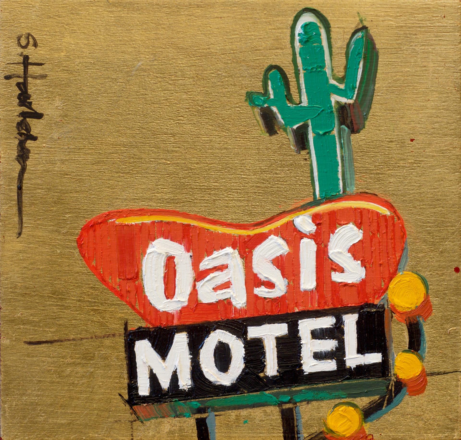 Oasis Motel by Stephanie Hartshorn