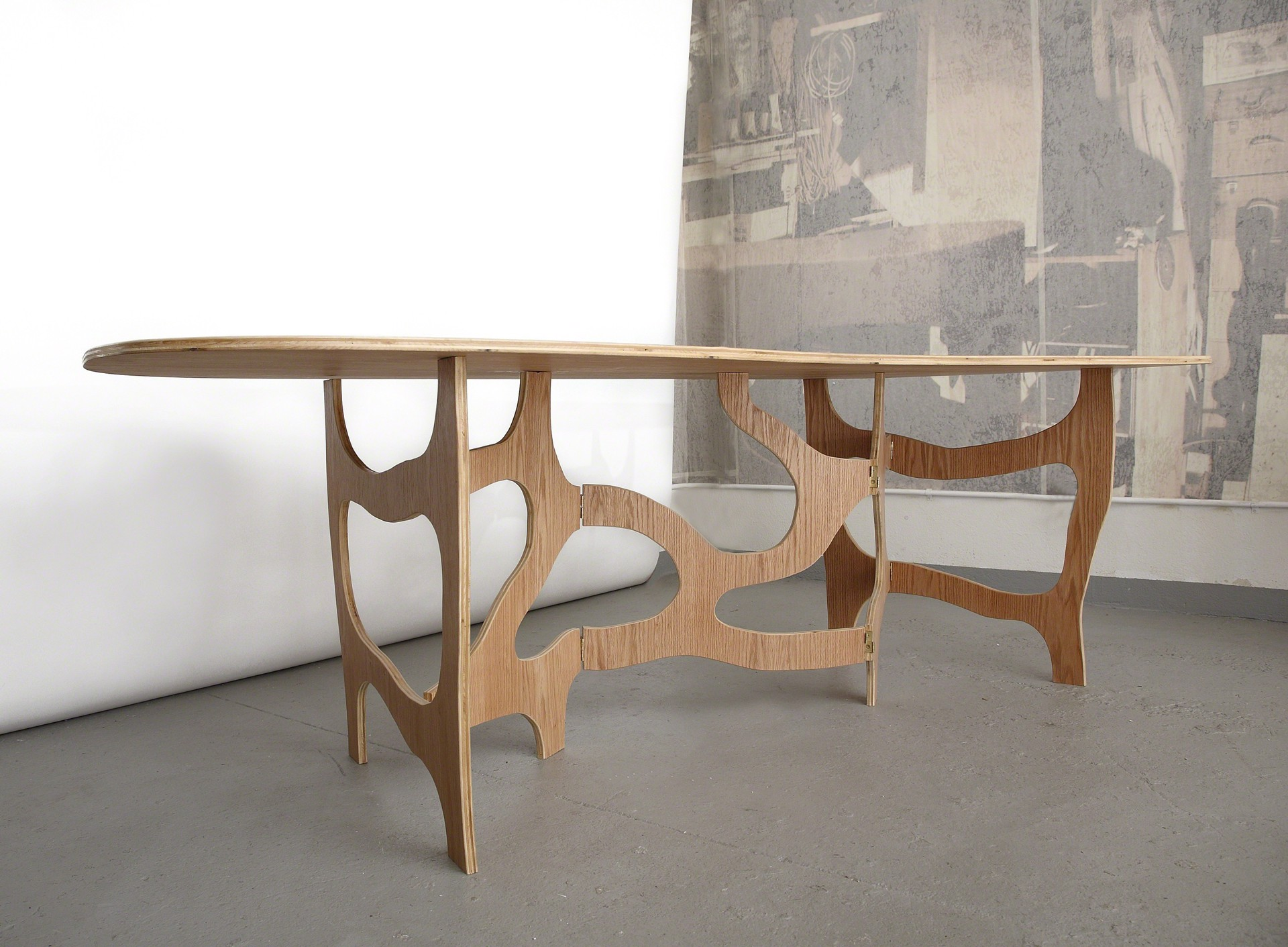 """Meanders"" Dining Table by Jacques Jarrige"