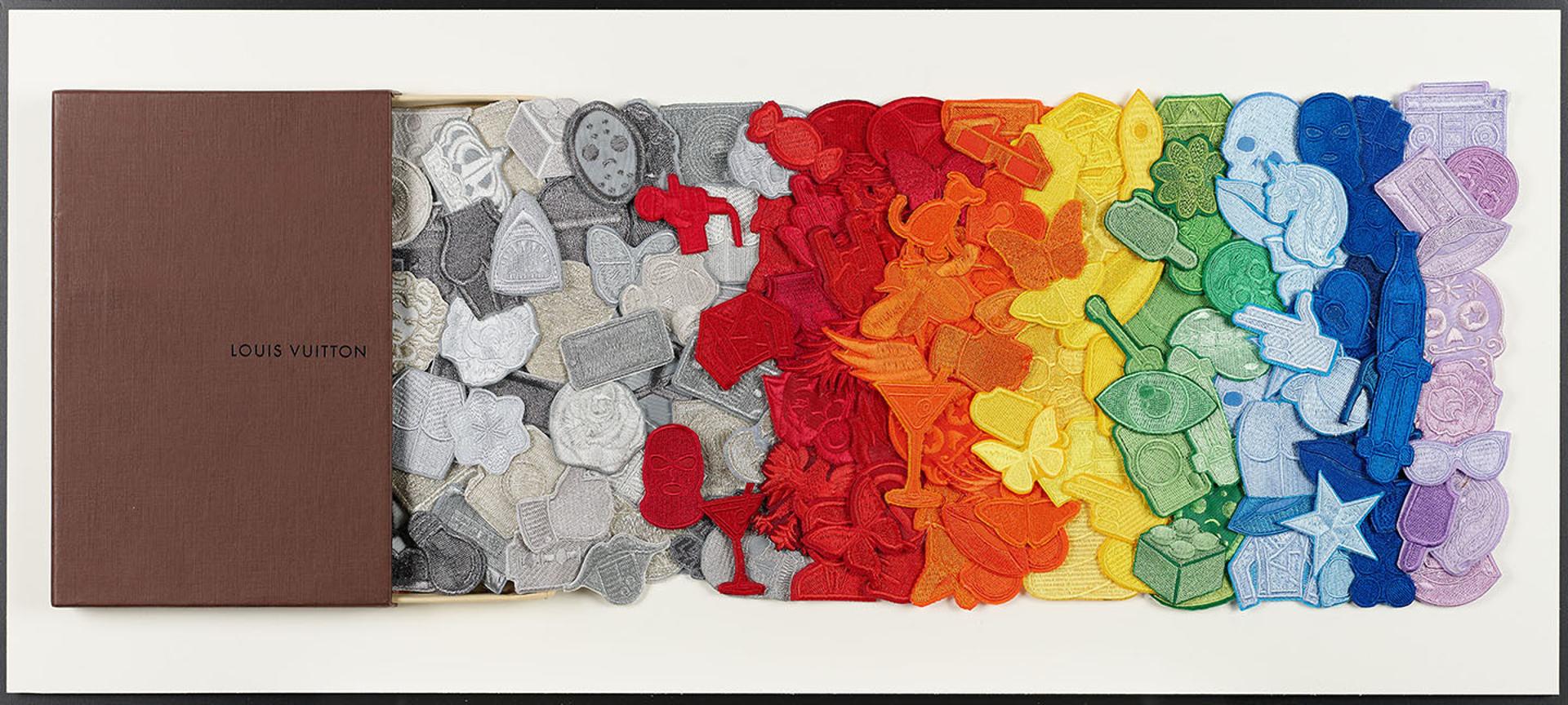 LV Rainbow Drawer by Stephen Wilson