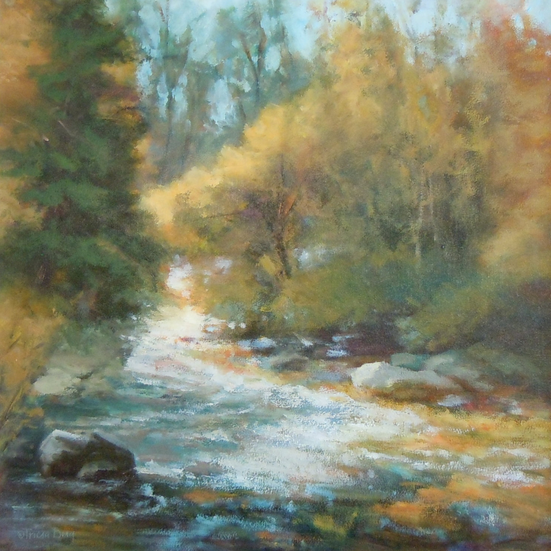 Autumn Creek by Tricia Berg