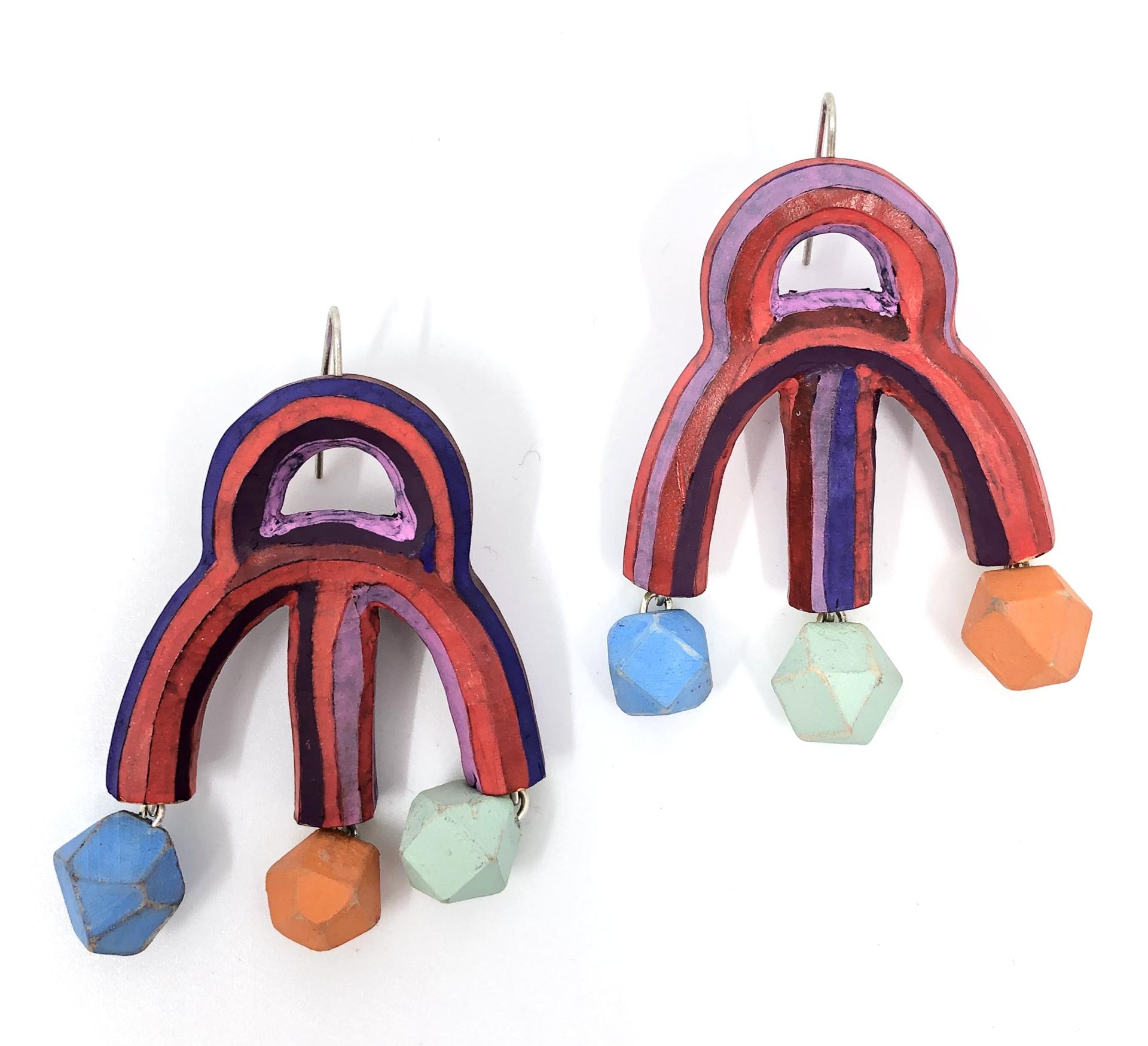 Curcus Ladies Earrings by Lindsay Locatelli