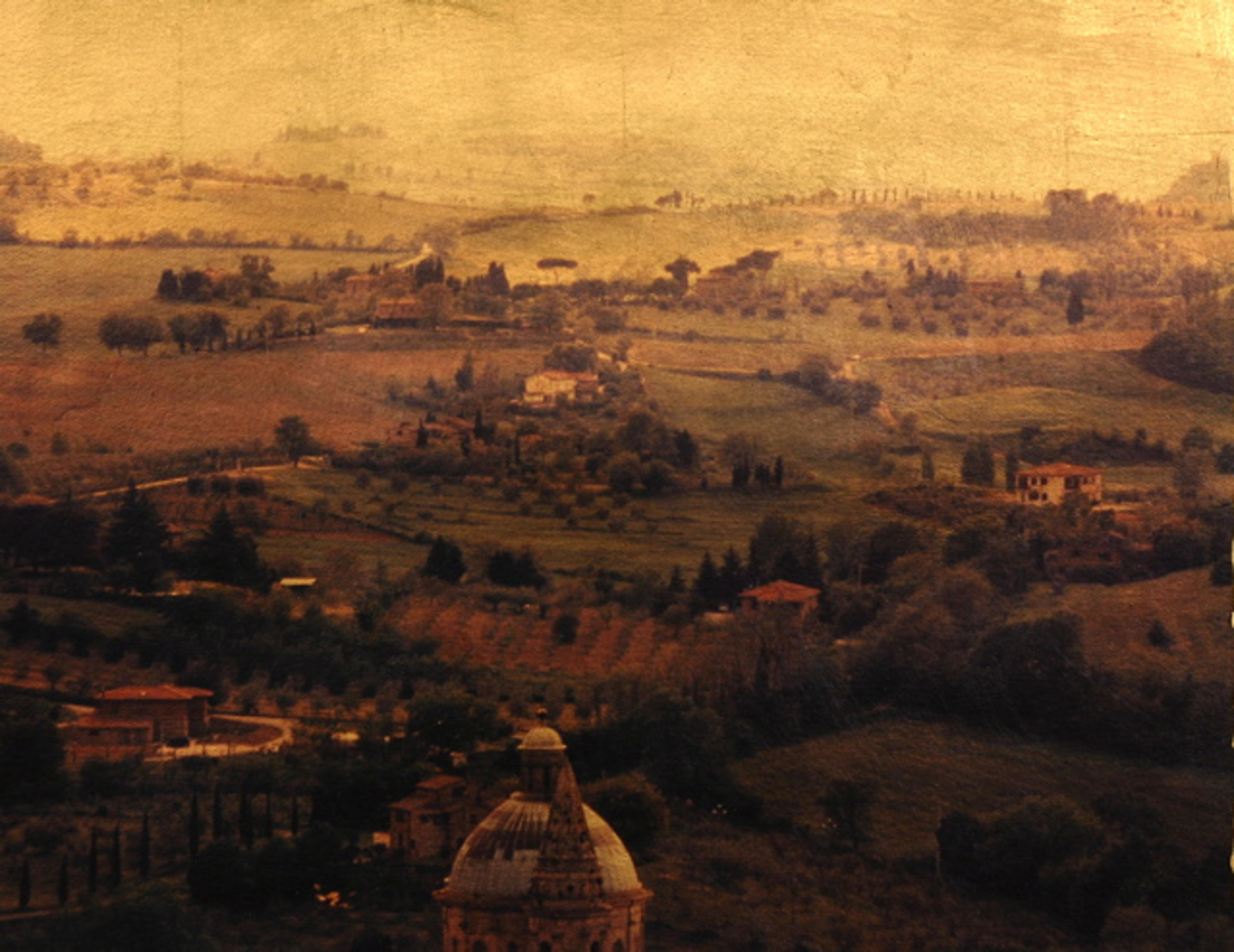 View from Montepulciano by Patty Mulligan