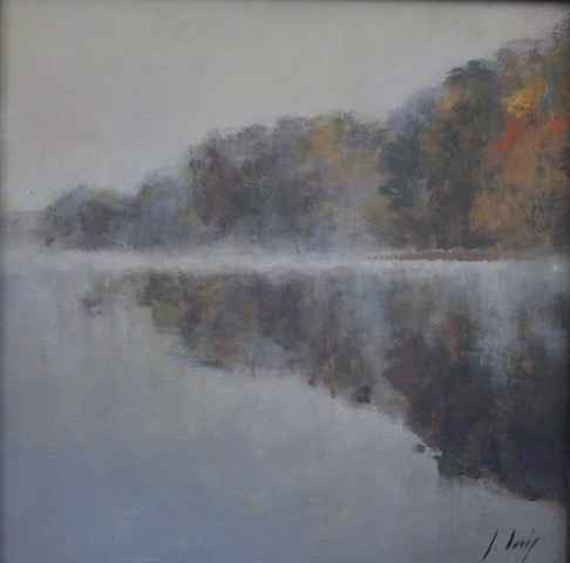 Fog Study I by Julyan Davis