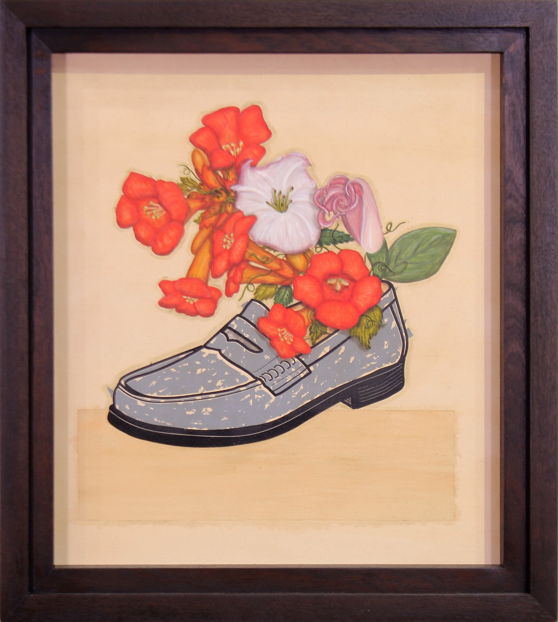 Trumpet Flowers & Loafer (with Issac Telles) by Vicente Telles