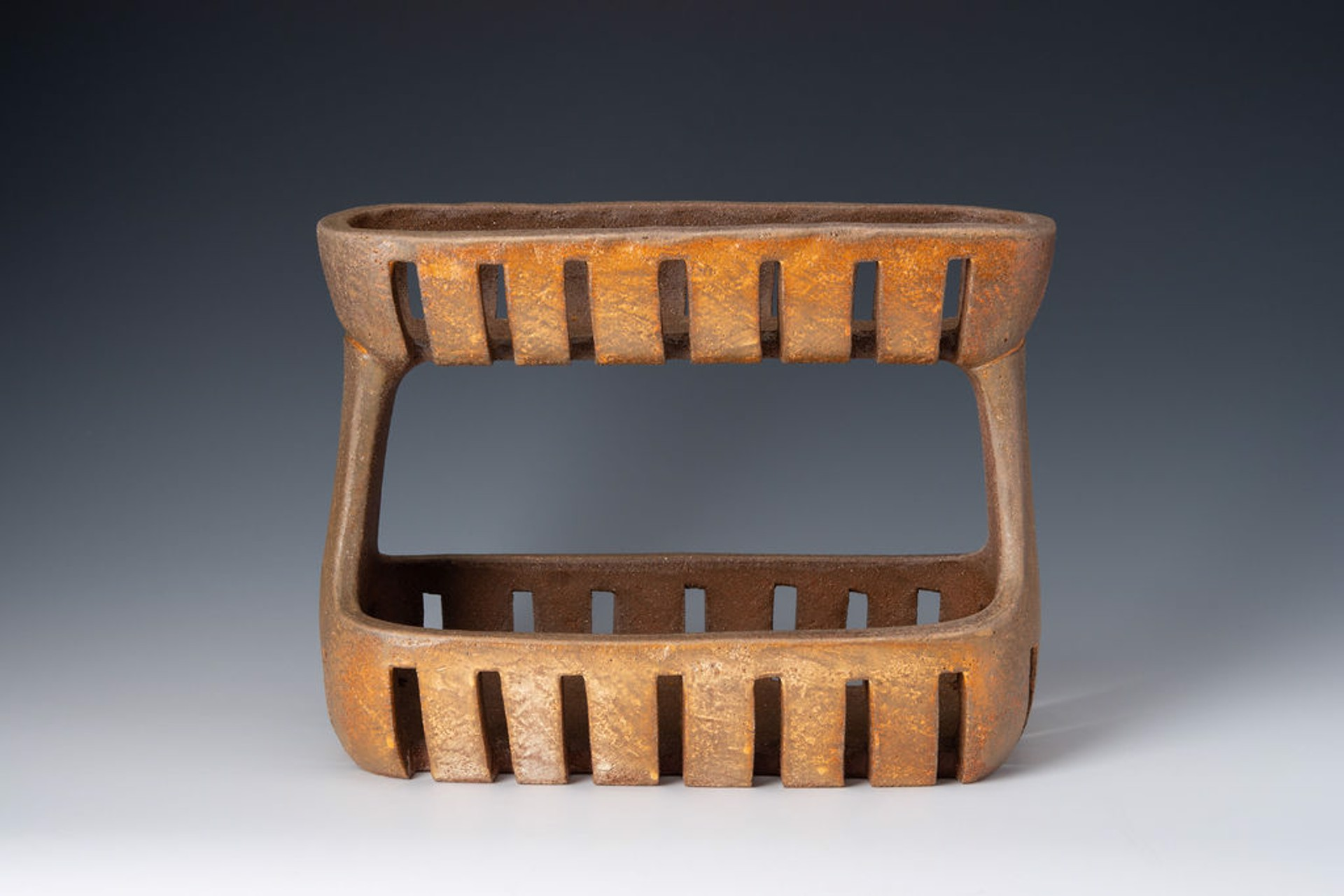 Double Tiered Basket by Julie Crosby