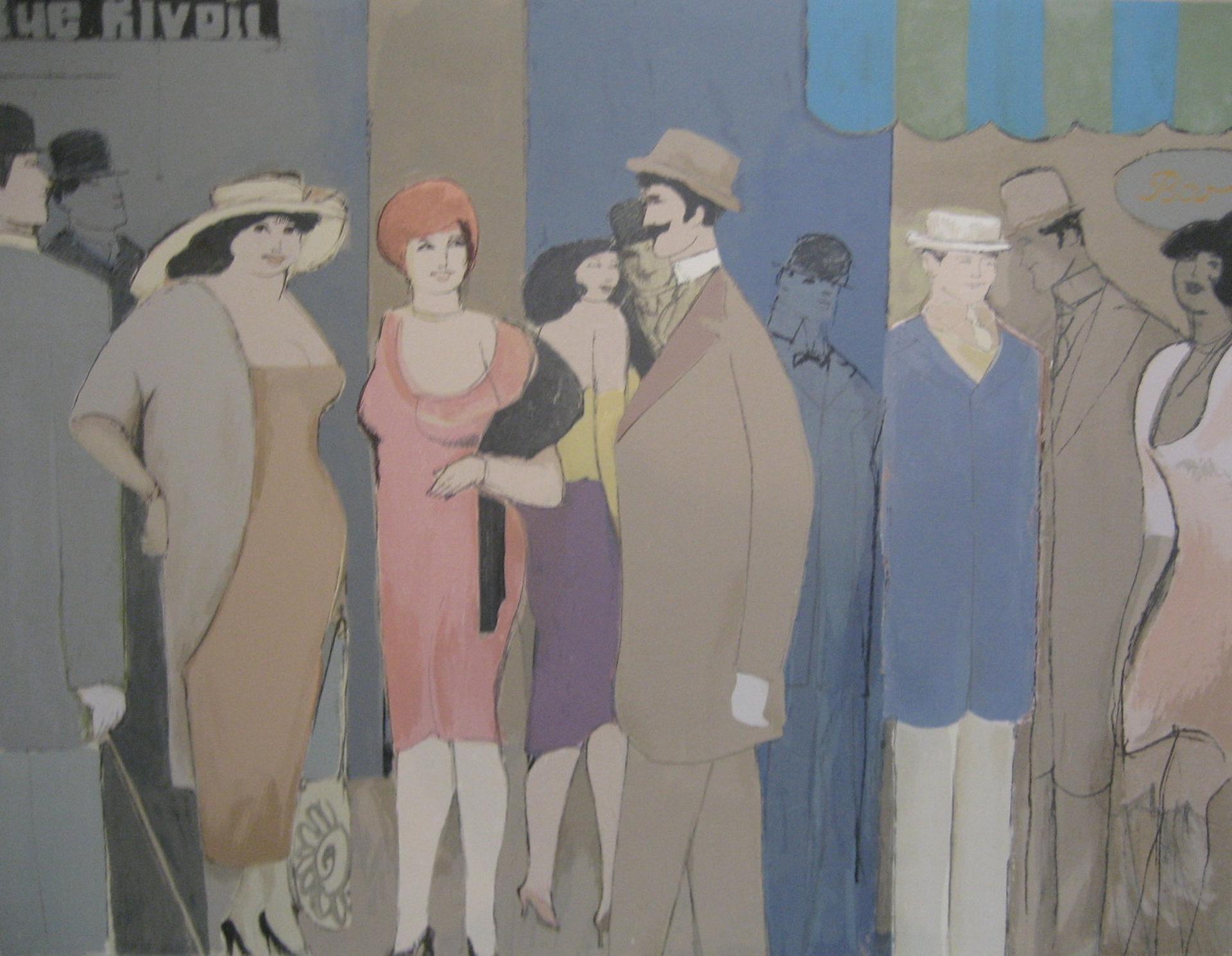 Rue Rivoli by David Schneuer