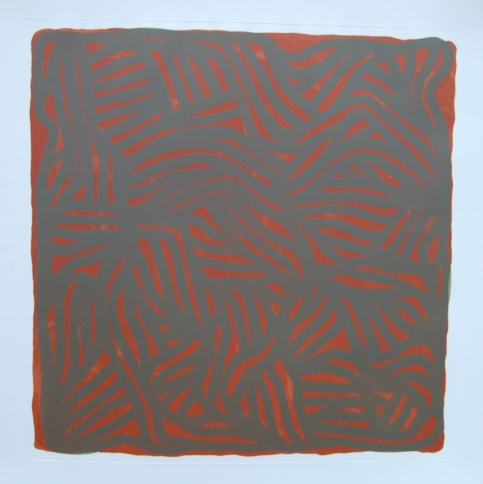 Untitled (Brown) by Sol LeWitt