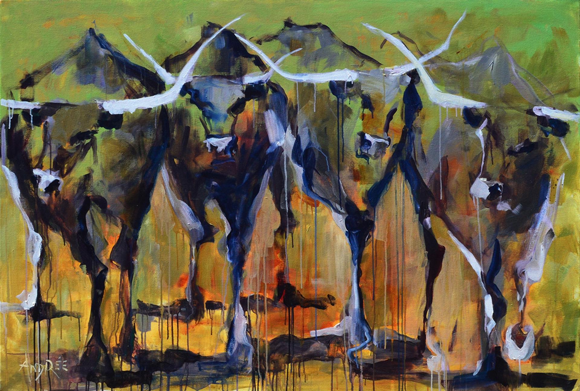 Big Horns by Andrée Hudson