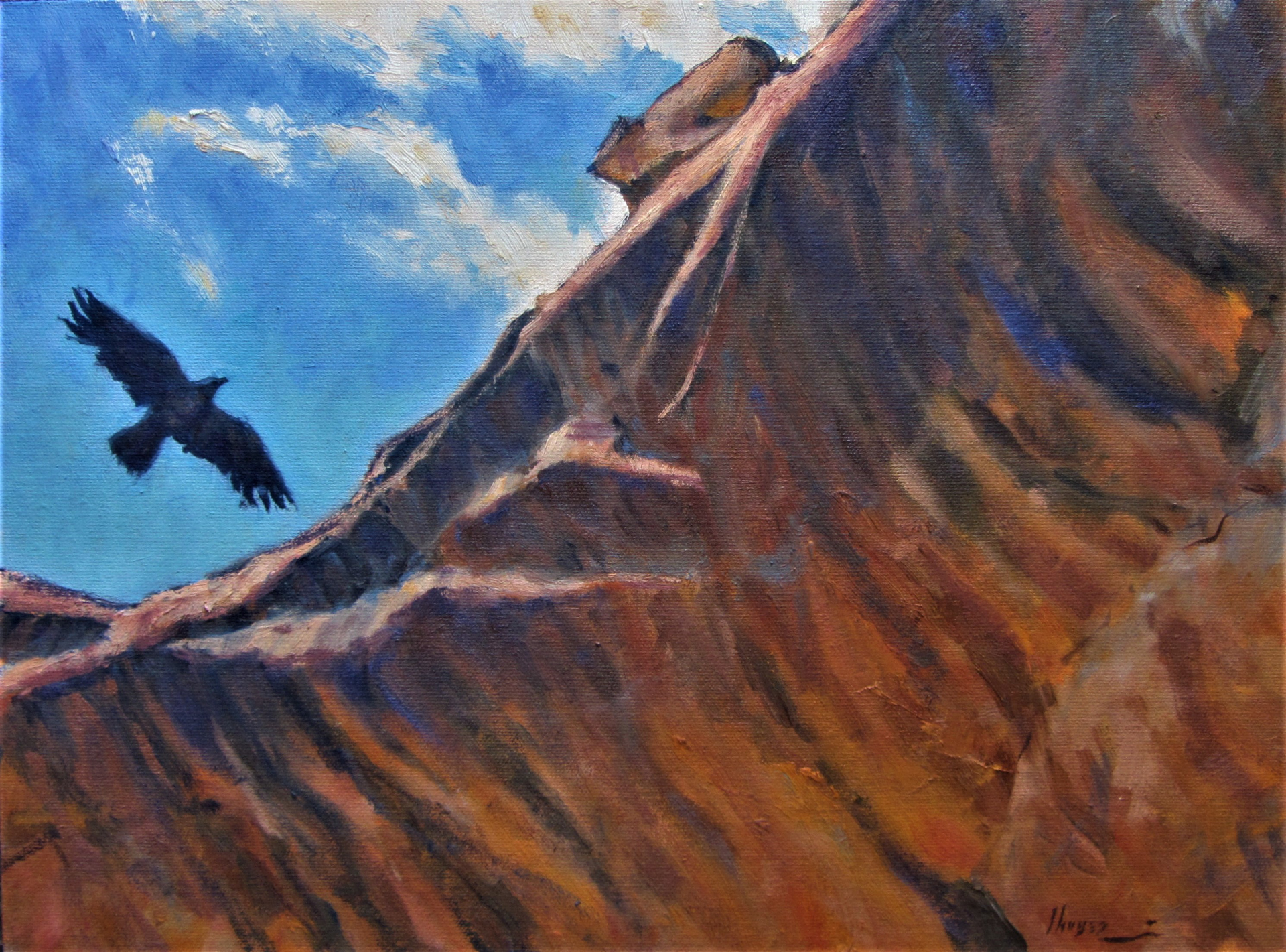 Canyon of the Crow by Lorenzo Chavez
