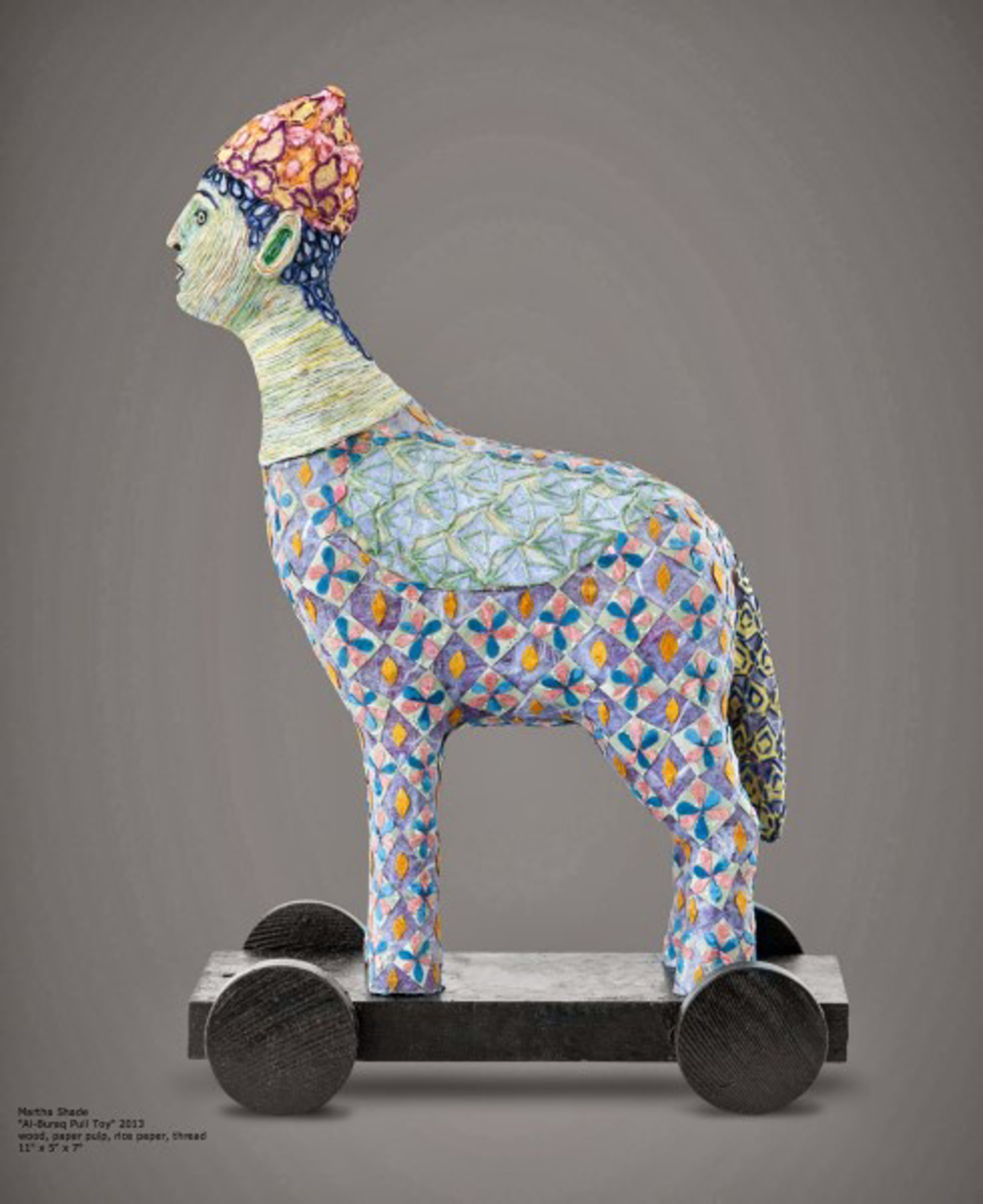Al-Buraq Pull Toy by Martha Shade