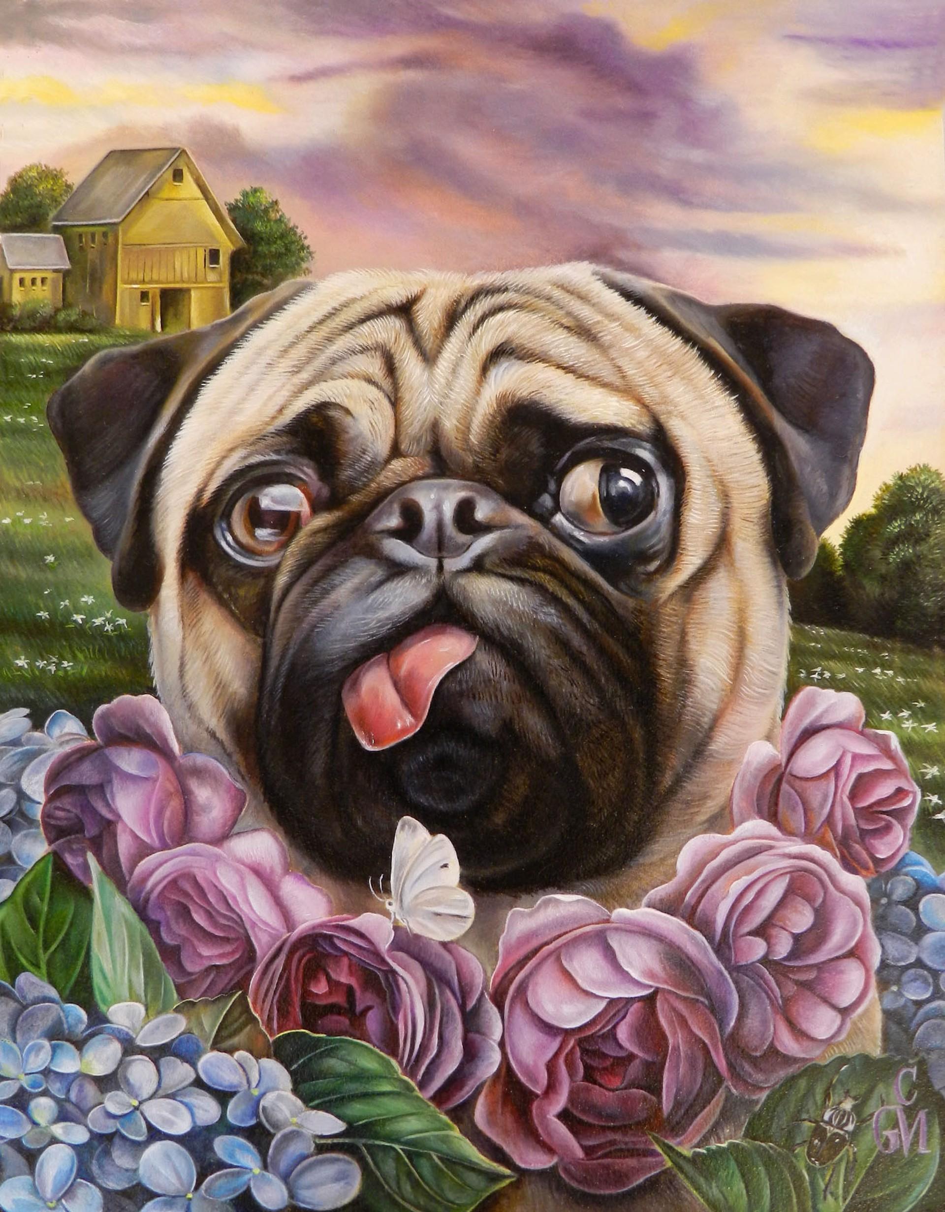Purple Rose of Cujo by Claudia Martucci
