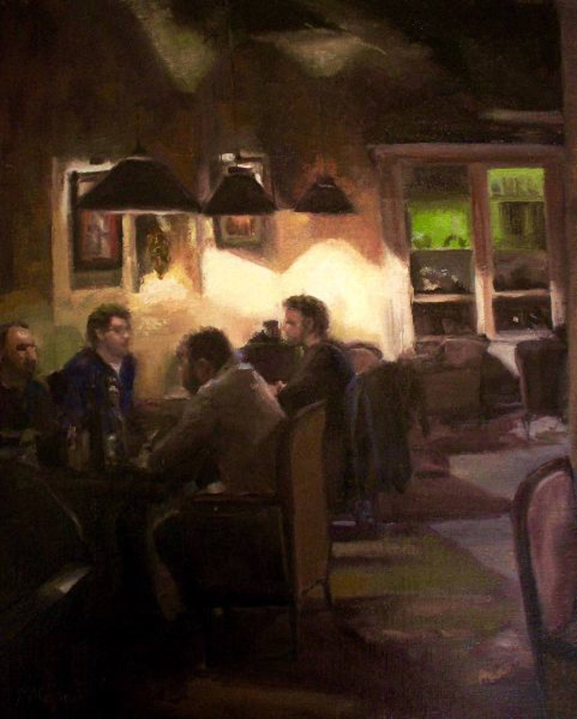 Night Out by Mary Ann Cope