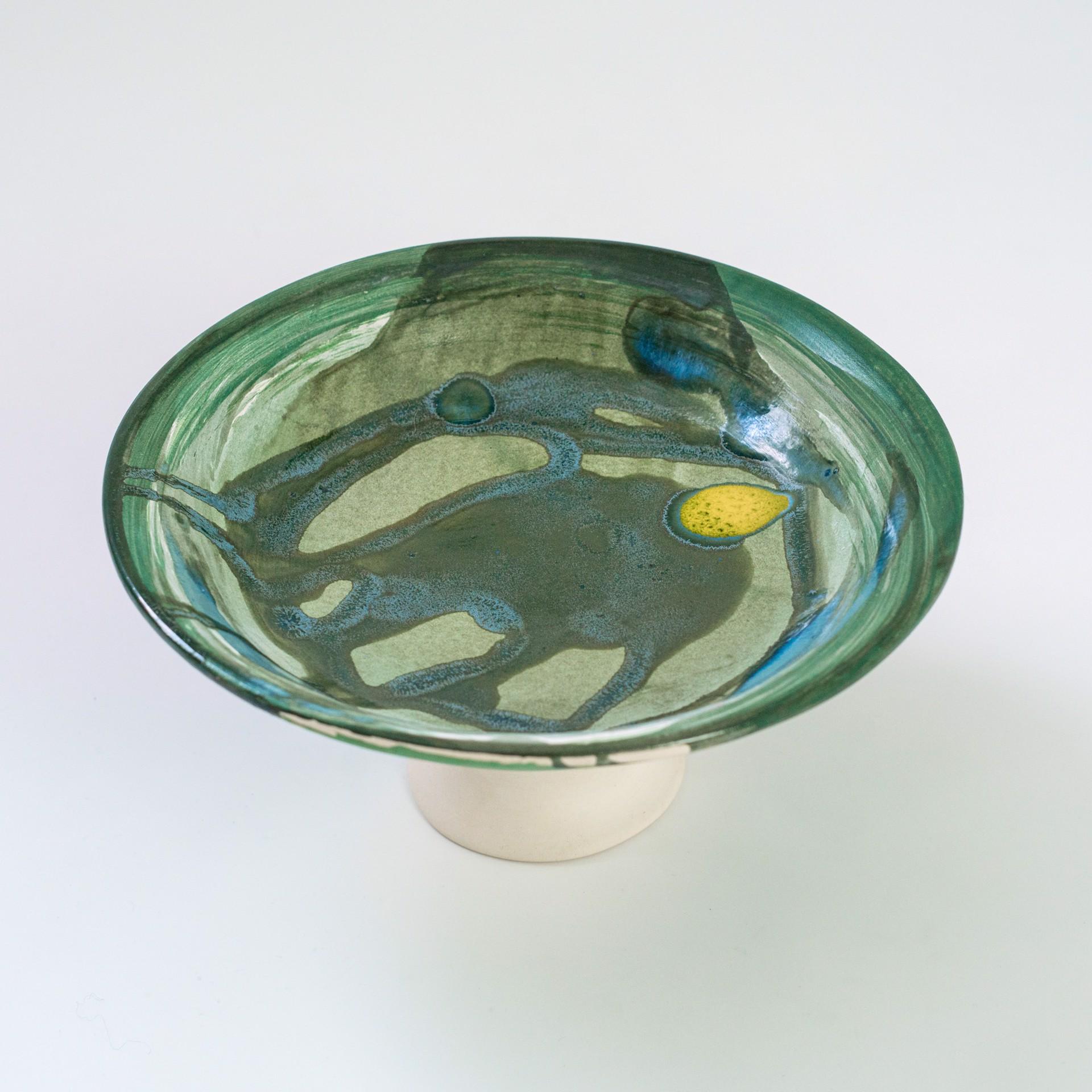 """Compotier """"Algues"""" by Claire de Lavallee"""
