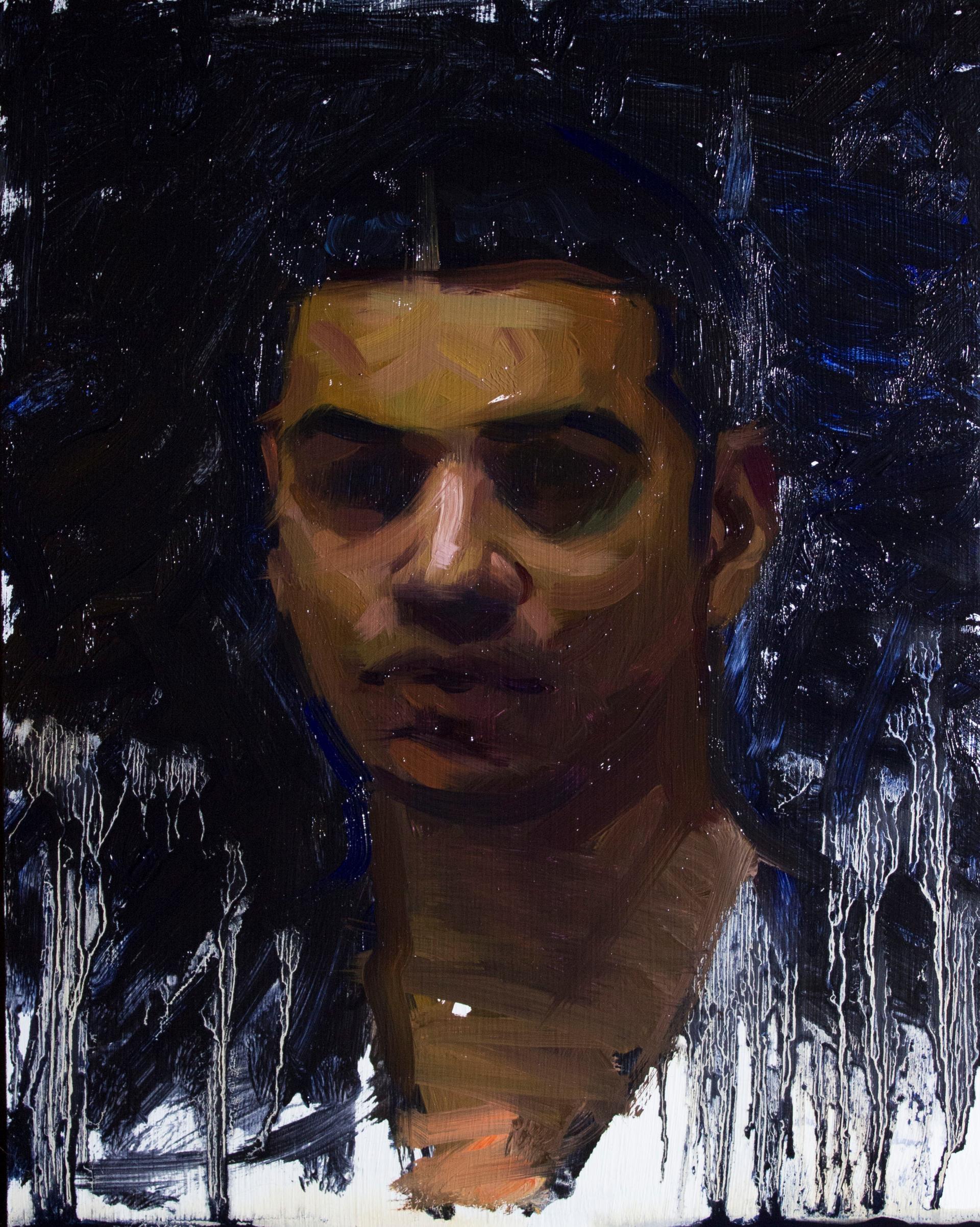 Self Portrait by Devon Rodriguez