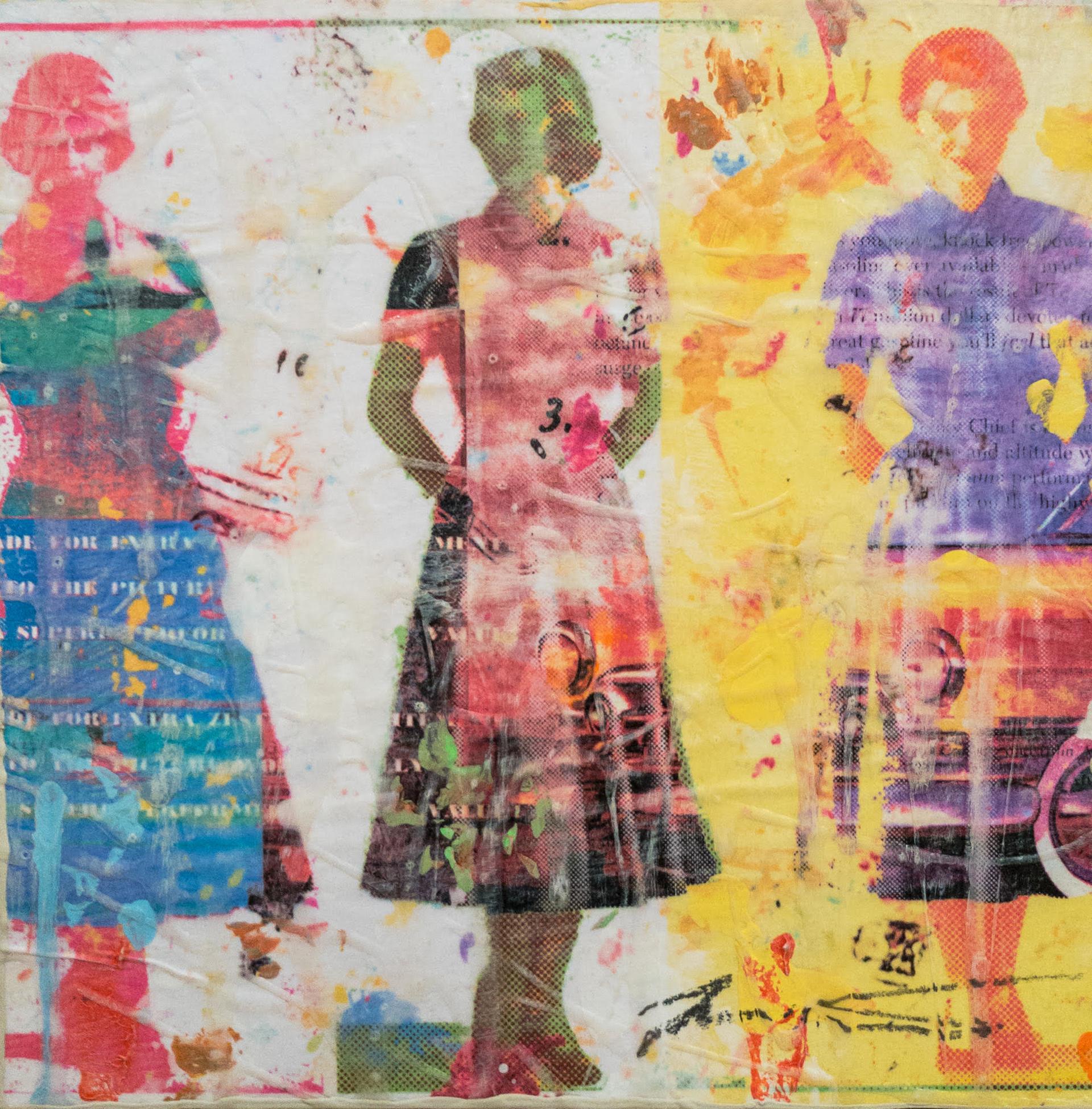 Dress Paper VI by Jon Davenport