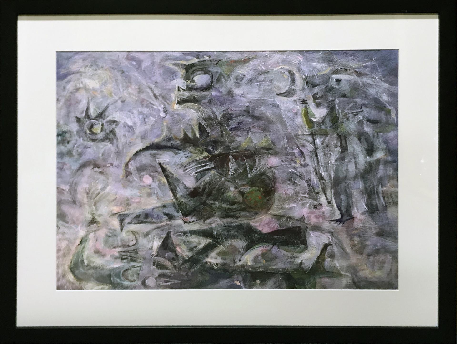Mystic Fisherman by Bill Reily