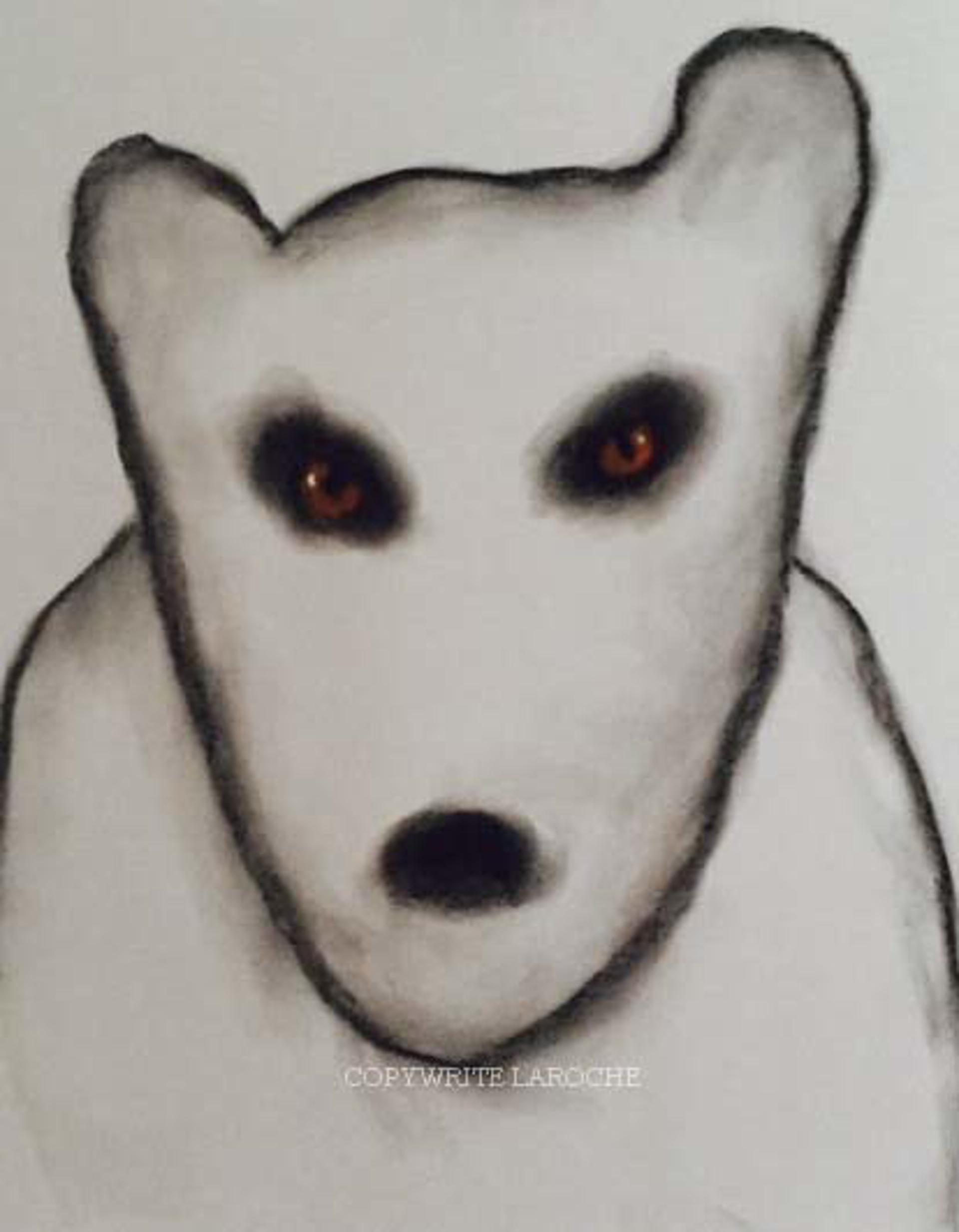 THE VISITORS/BEAR VI by Carole LaRoche