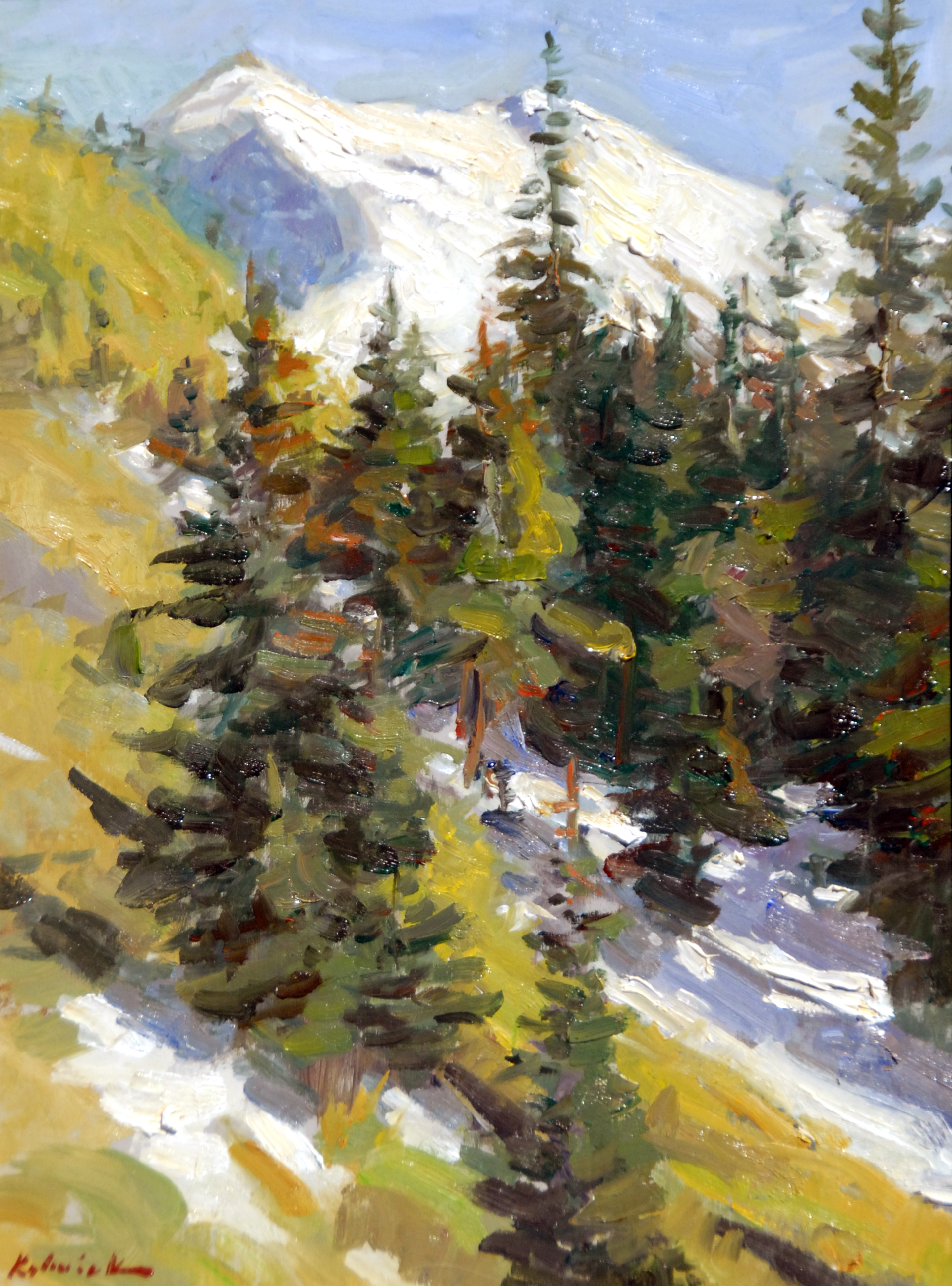 Mountain Side by William J. Kalwick Jr.