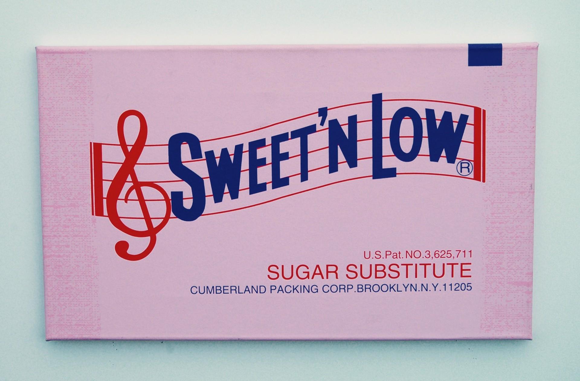 Sweet 'N Low by Sylvie Fleury