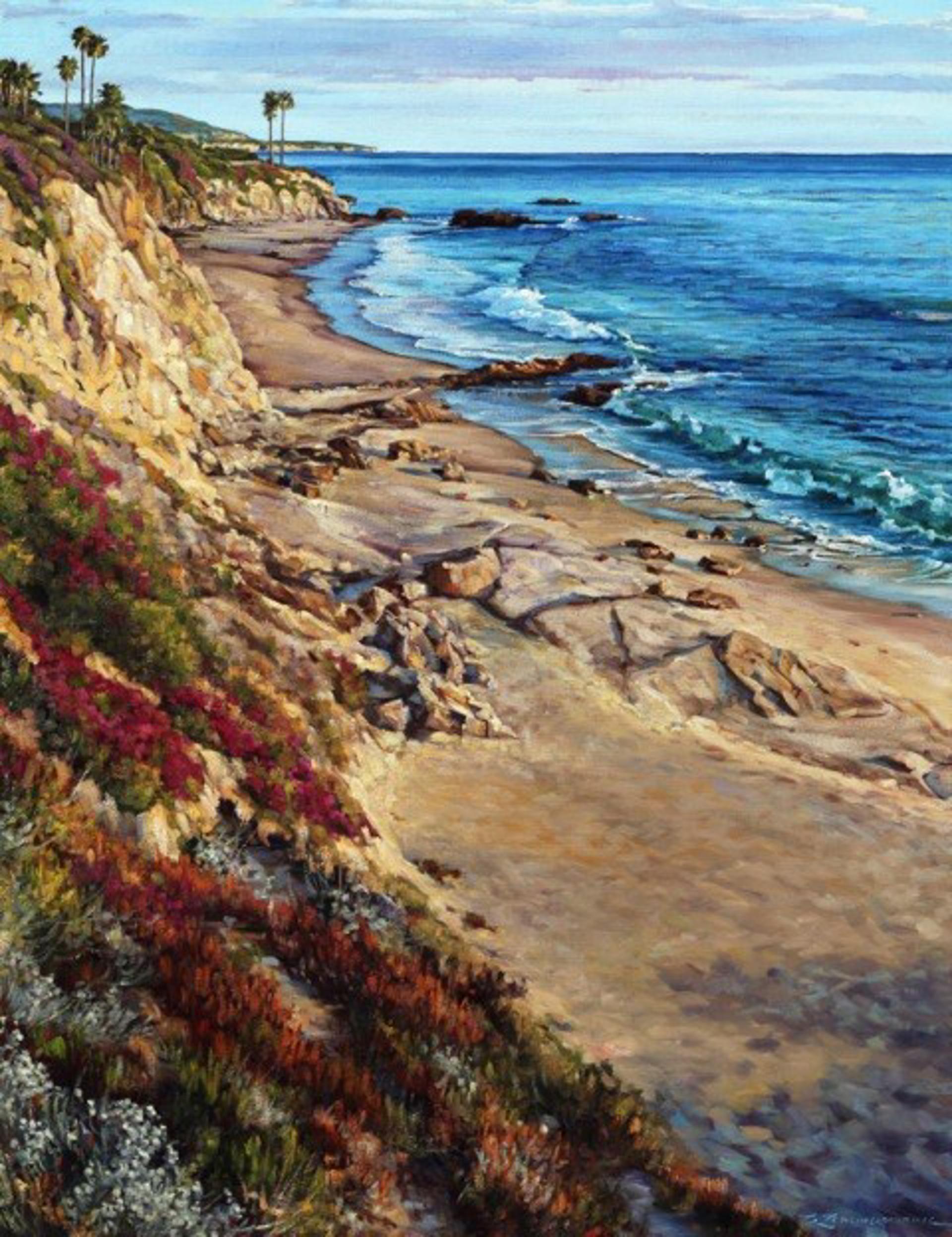 Diver's Cove Dream, Laguna Beach by Caroline Zimmermann