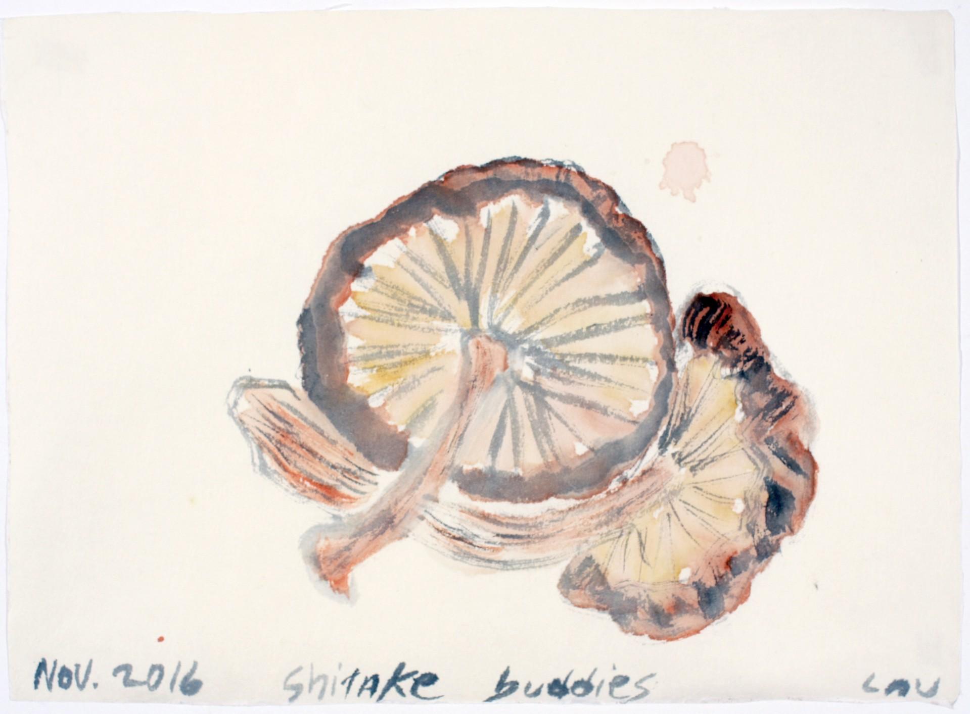 shiitake buddies by Alan Lau
