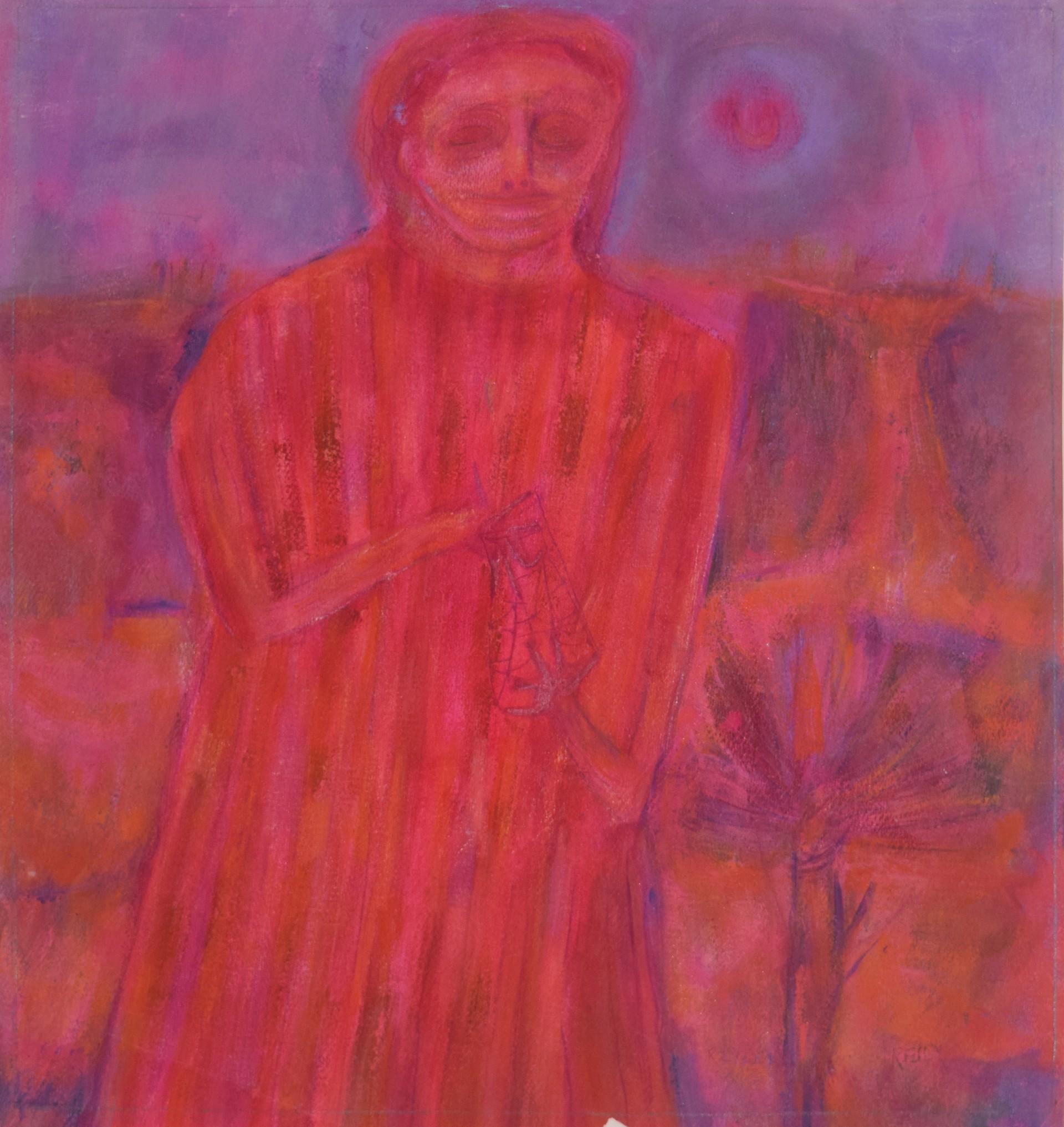 Girl in Red by Bill Reily