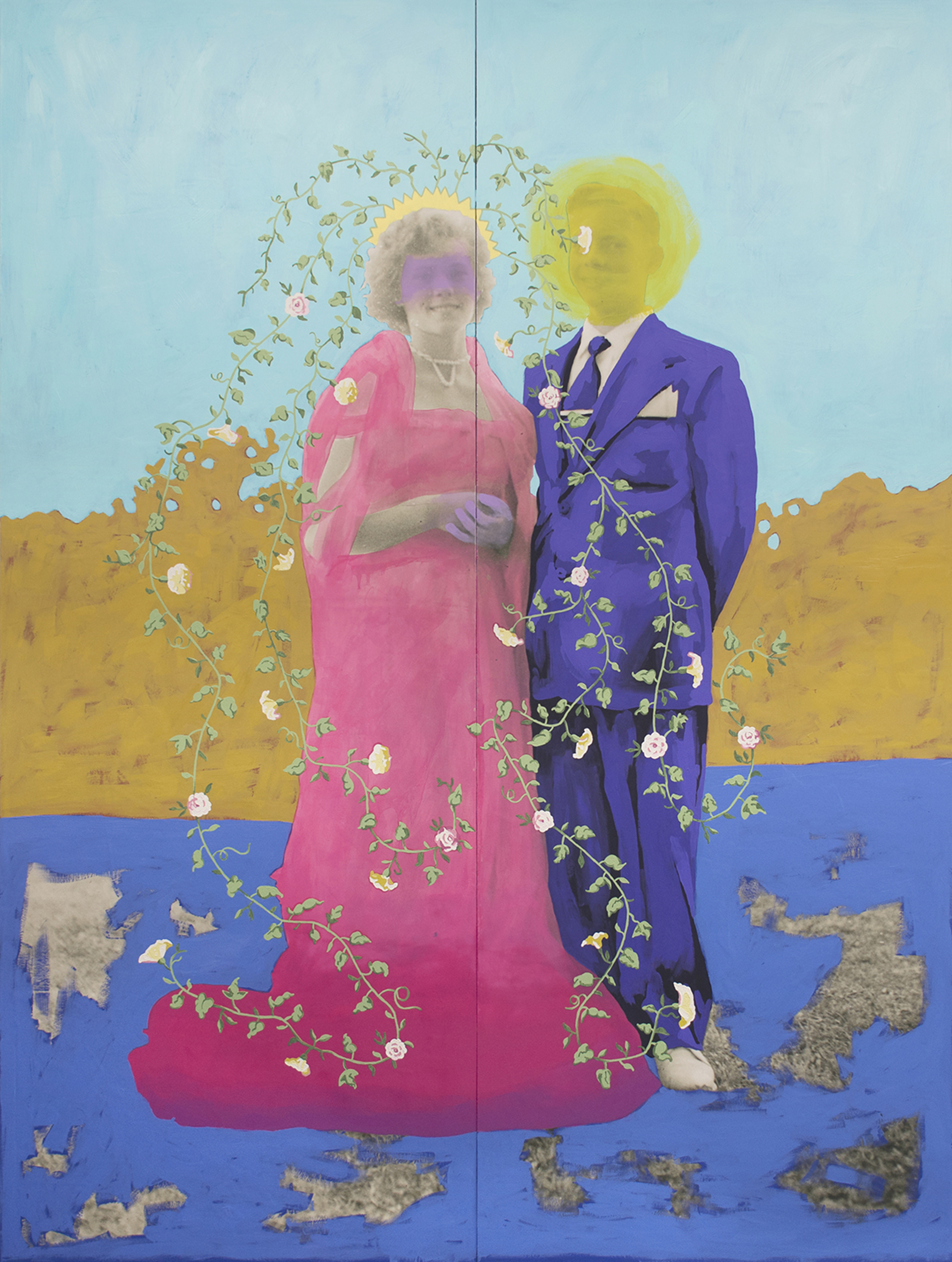 Untitled (Mrs. Bodenhamer £83) by Daisy Patton