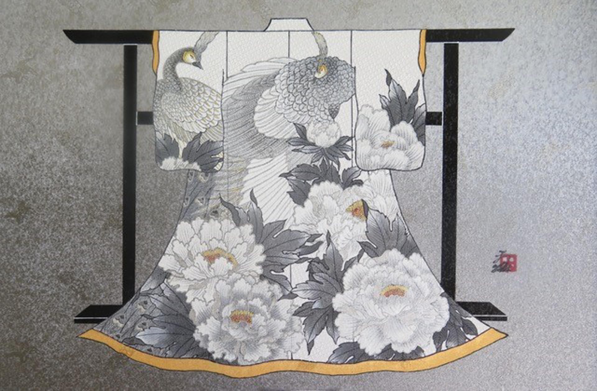 NATURE'S KEEPER #6 (Mini Kimono) by Hisashi Otsuka