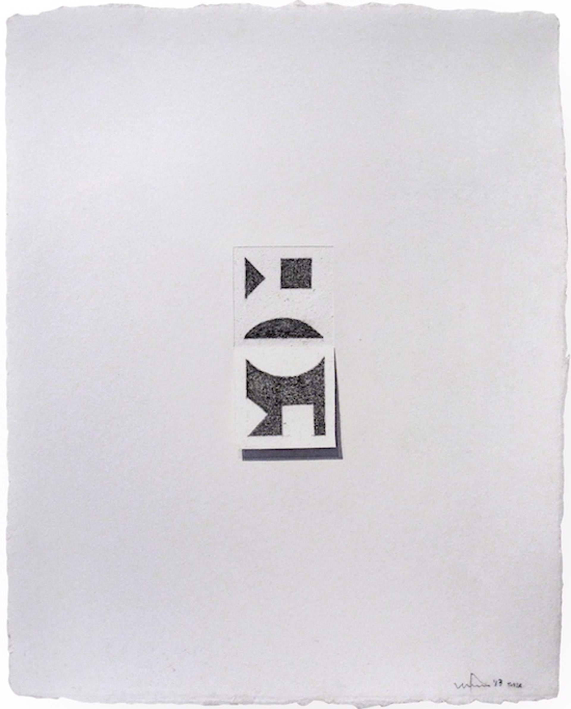 Untitled (SMA IX) by William Fares
