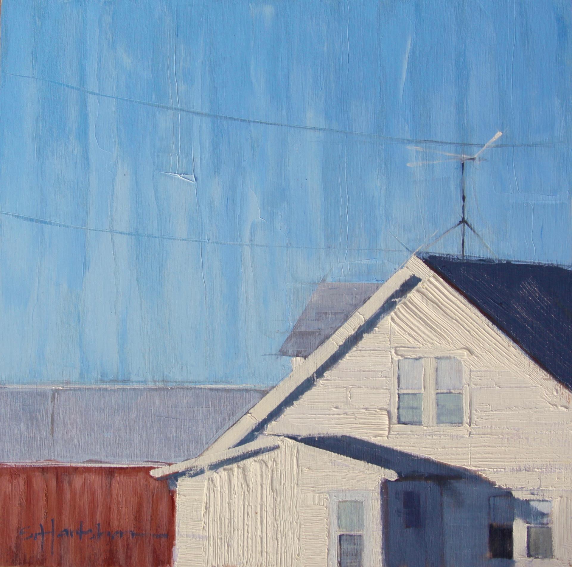 Rural Roofline by Stephanie Hartshorn