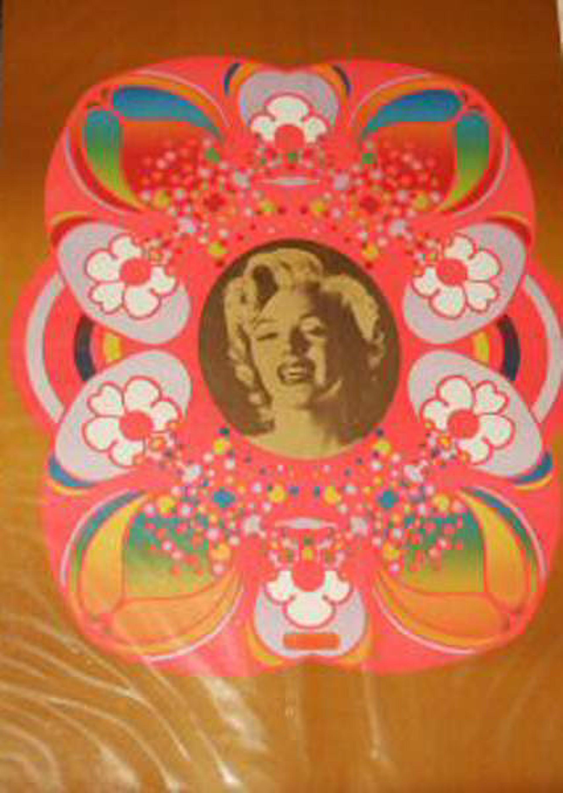 Marilyn Monroe by Peter Max