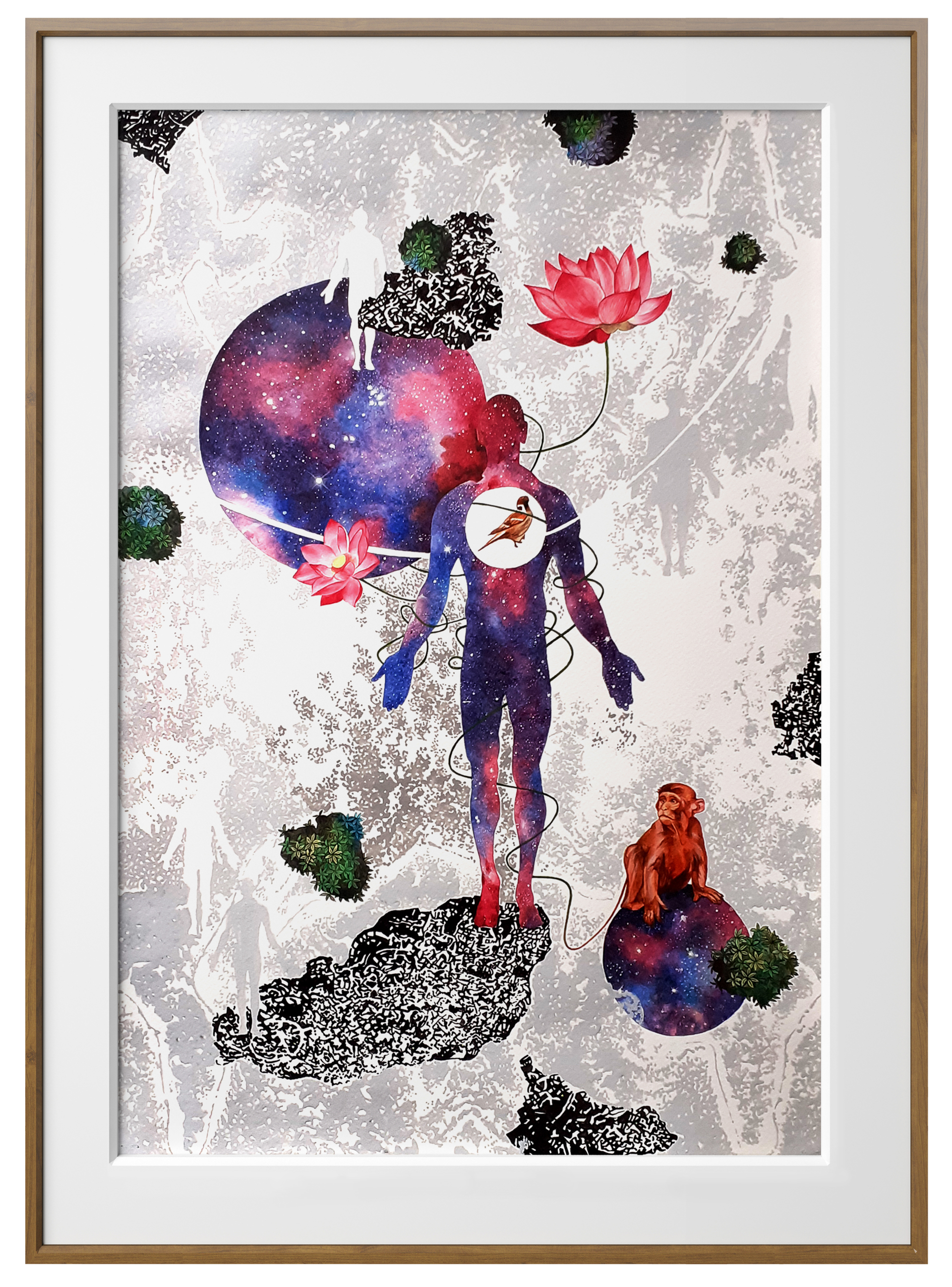 Eternal Dance of Nature by Binay Sinha