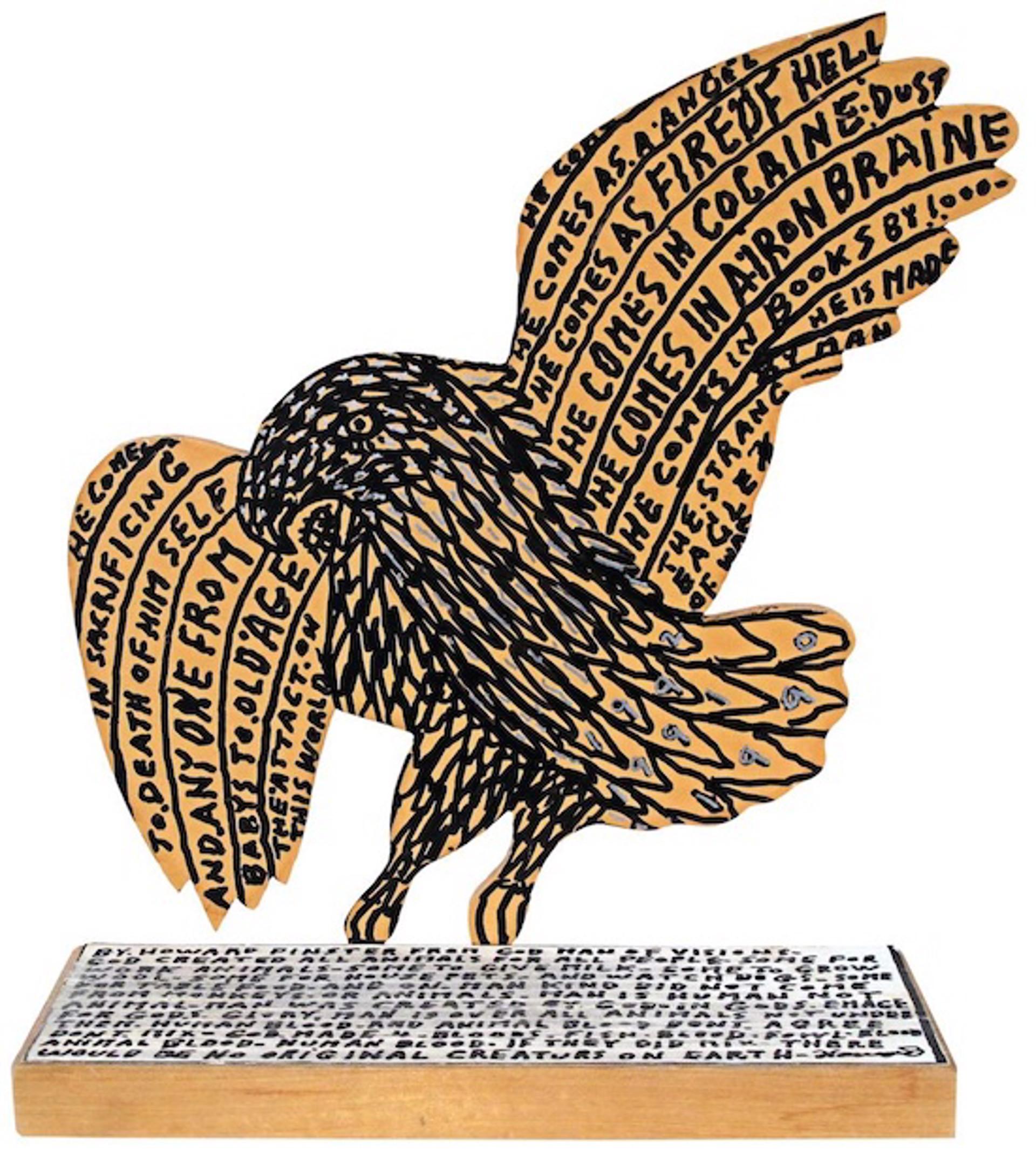 War Eagle by Howard Finster