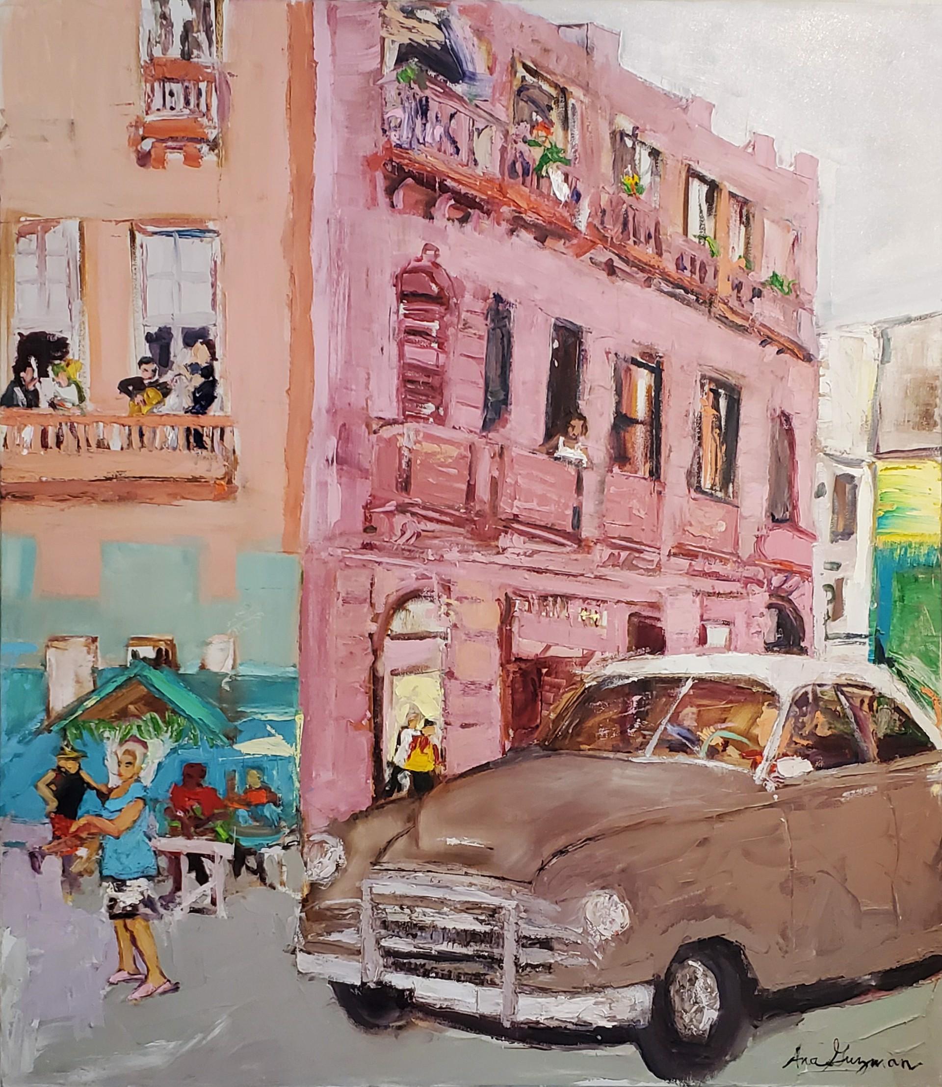 La Vida Cuba - Calle La Rosada by Ana Guzman