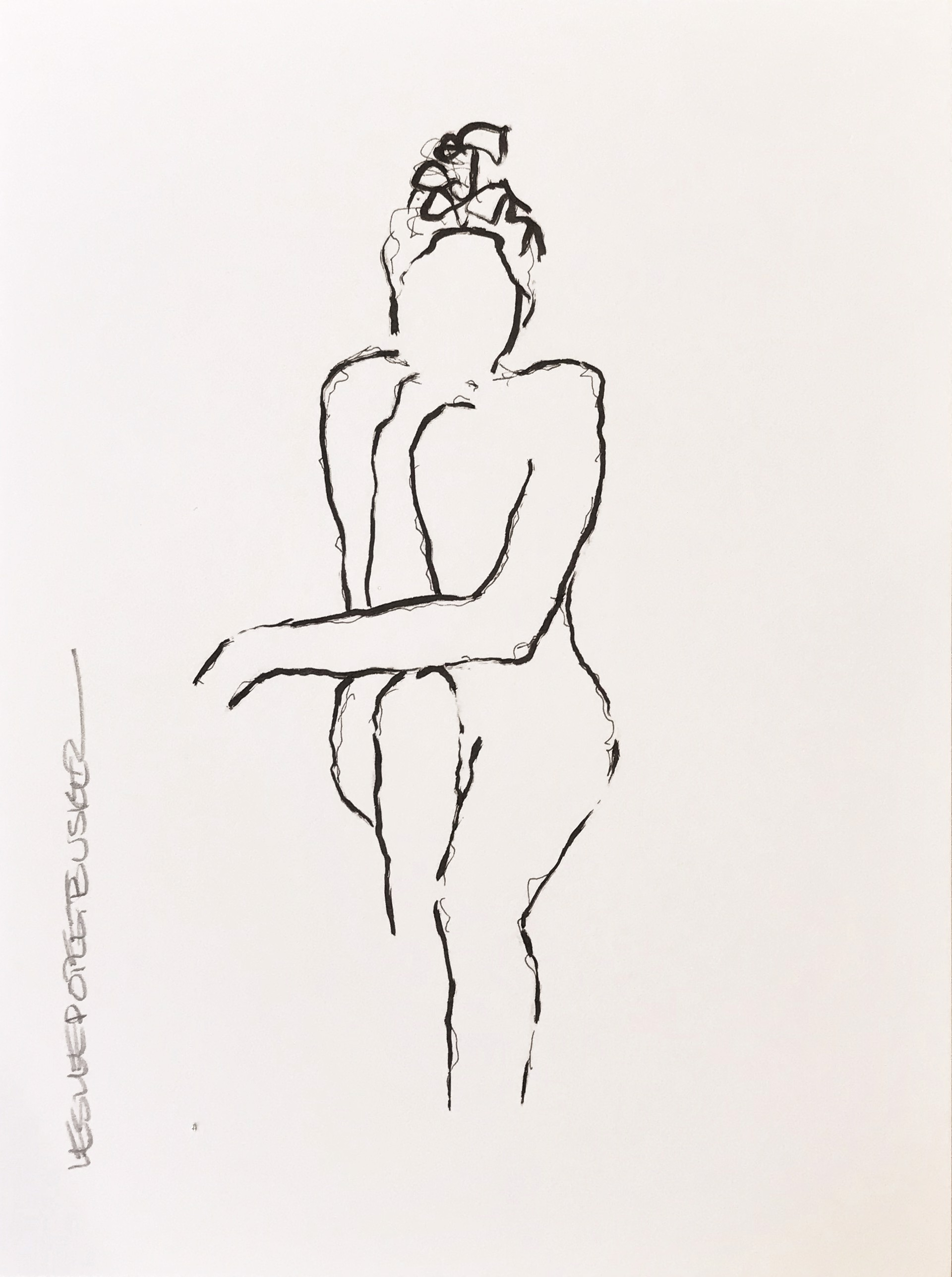 Figure No. 86 by Leslie Poteet Busker