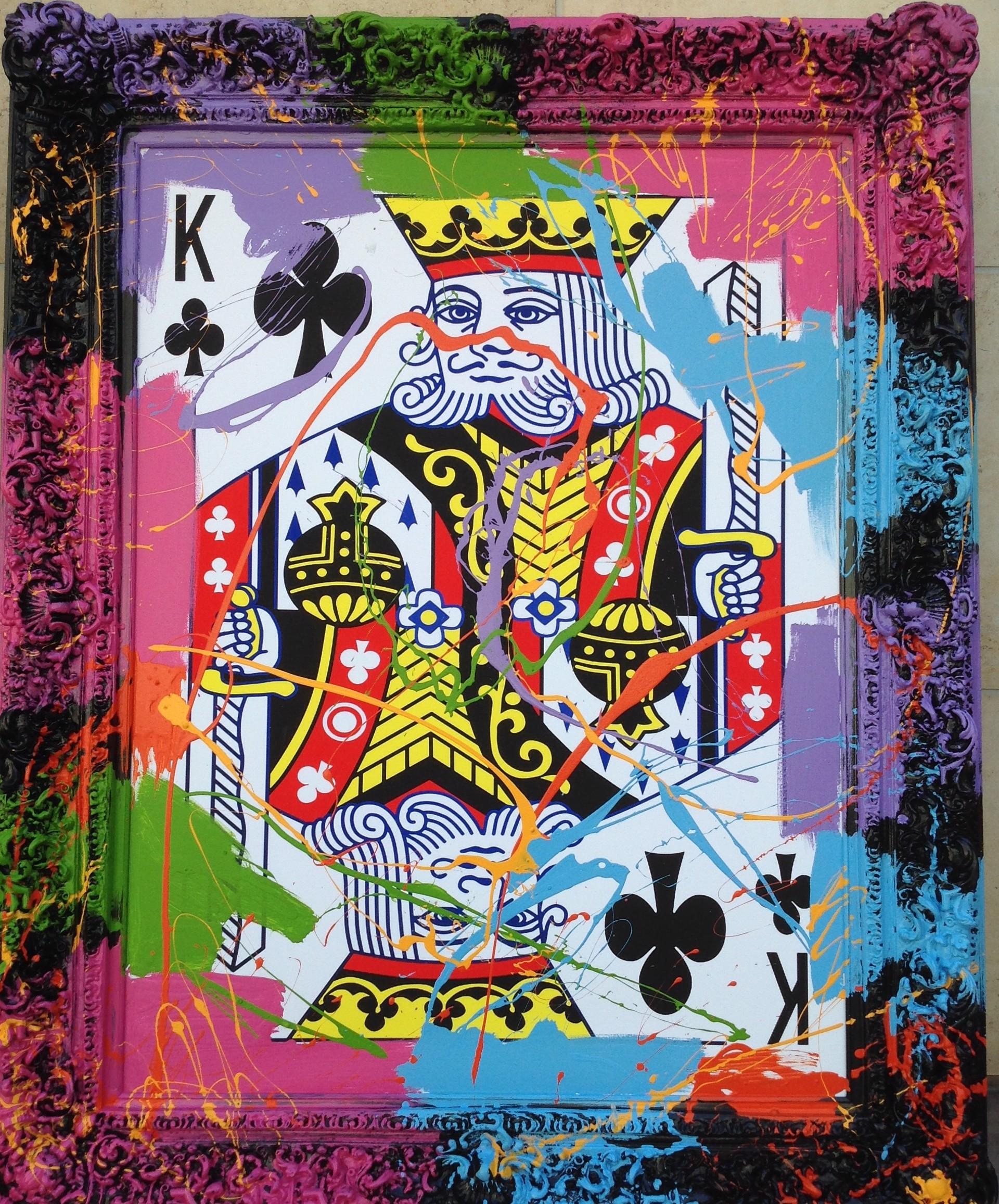 King of Clubs by Elena Bulatova