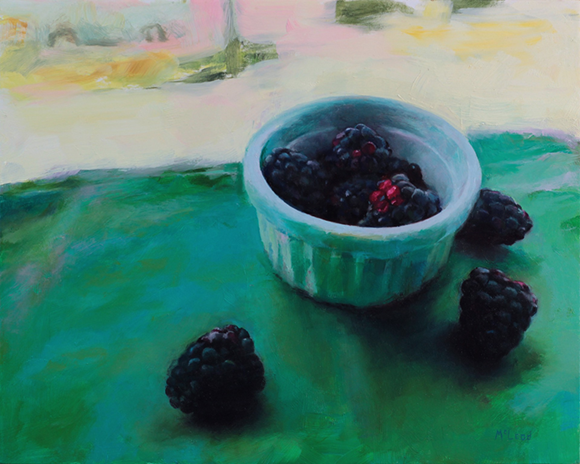 Blackberries by John McLeod