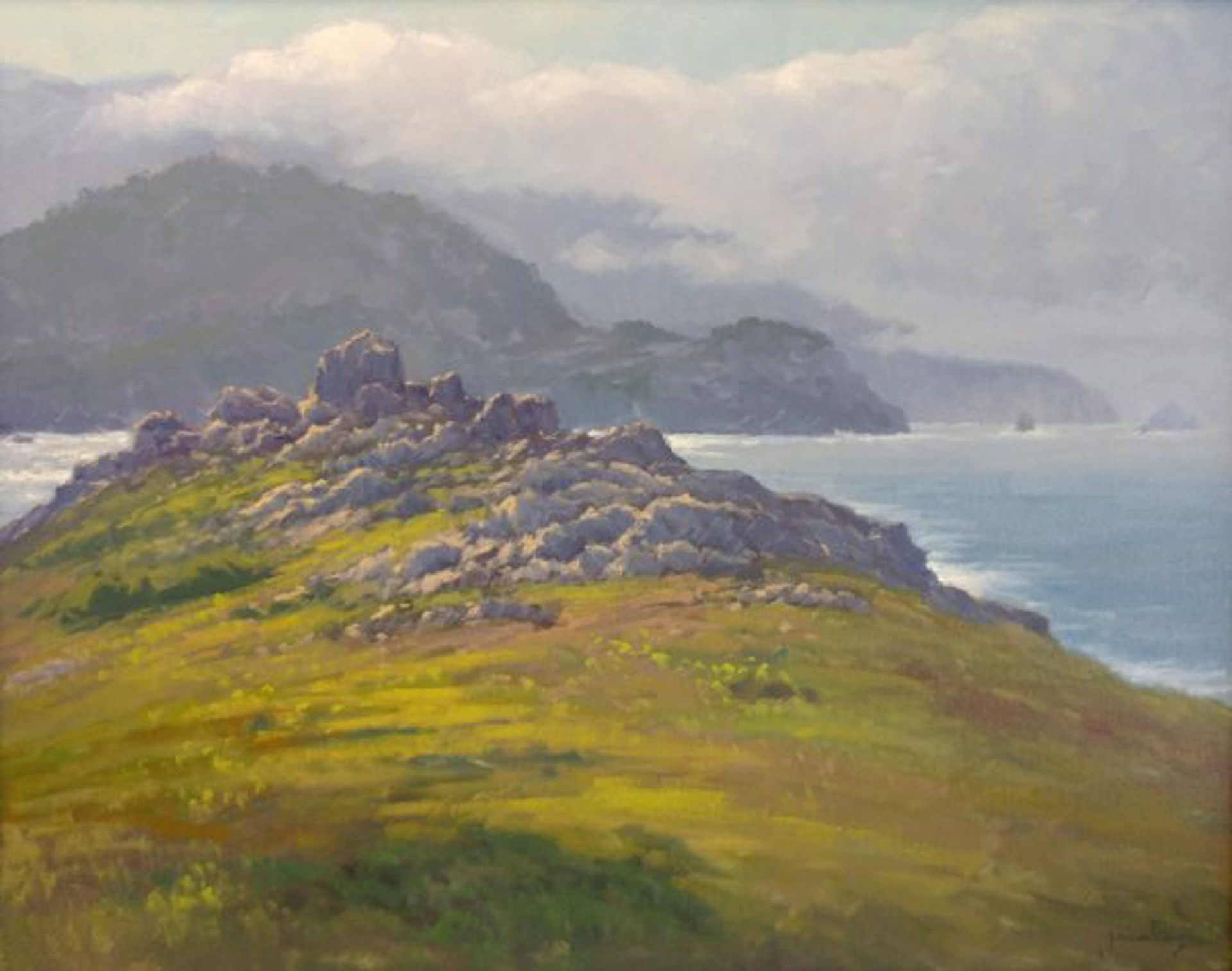 Rocky Point, Big Sur by Jacobus Baas