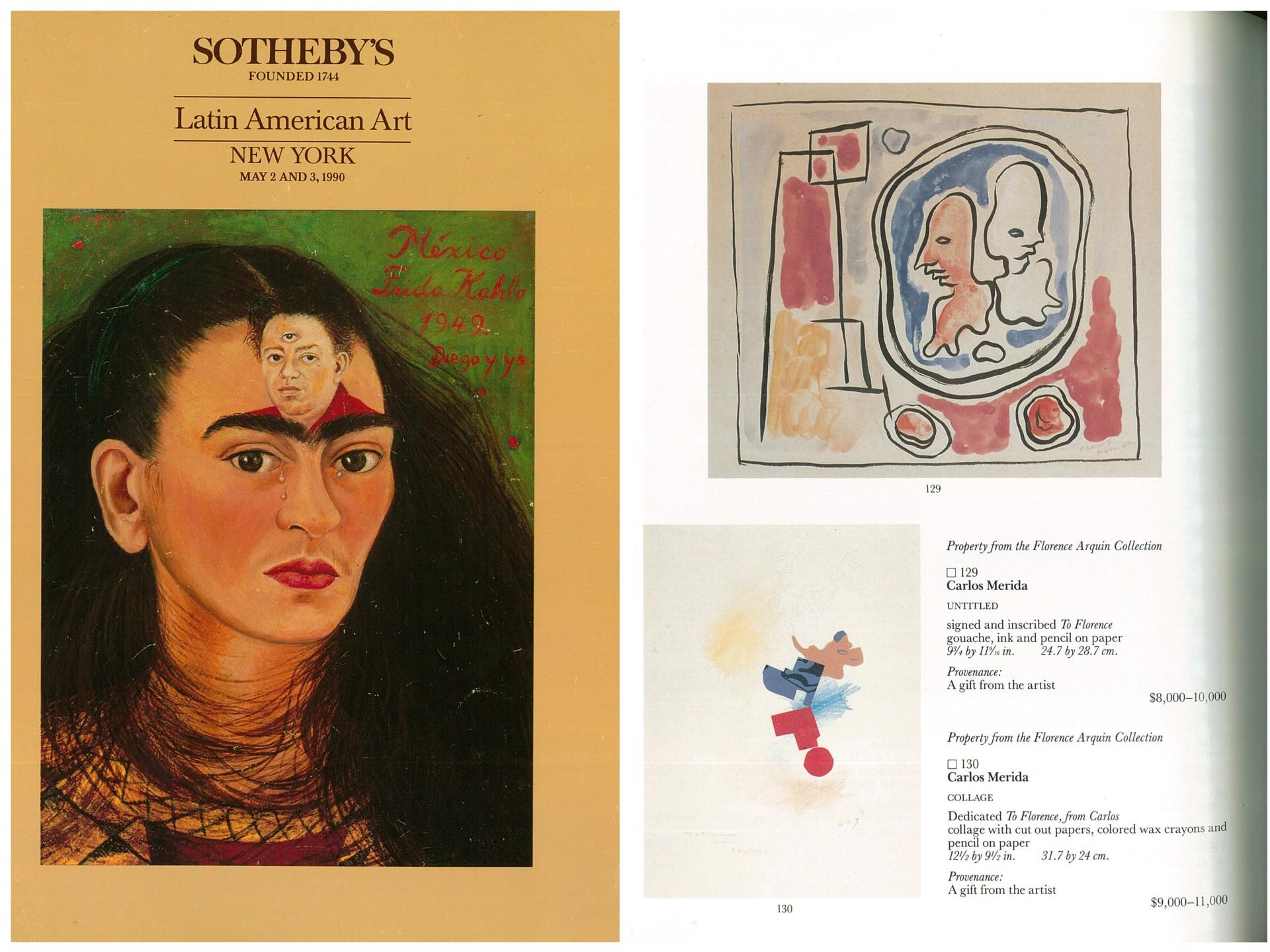 Collage by Carlos Mérida (1891 - 1985)