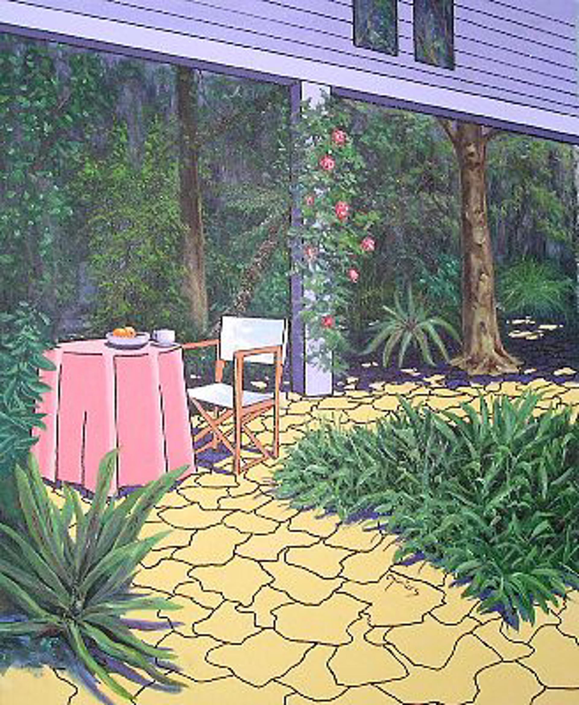 MG044 Breakfast in the Botanical Garden by Mario Garcia Miro