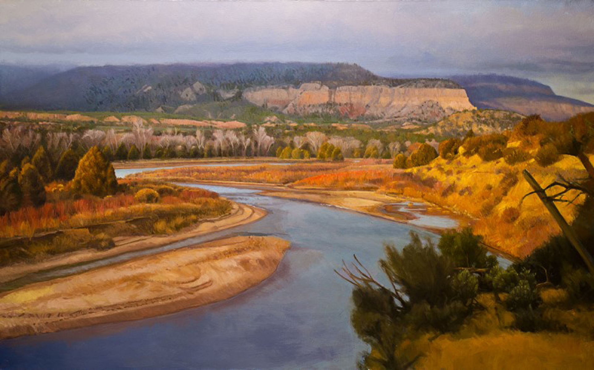 Down on the Rio Chama by Ocean Quigley