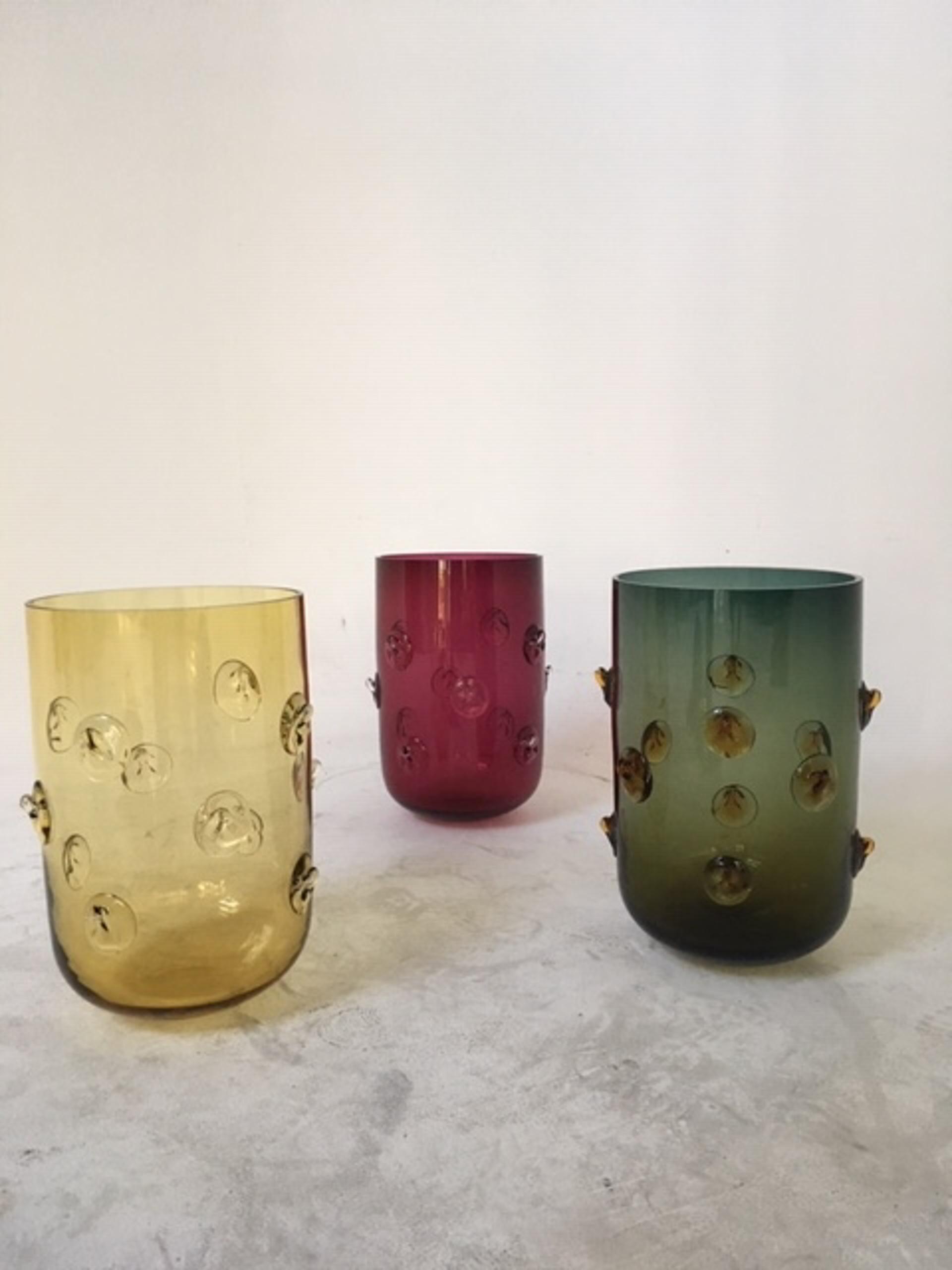 """Studs"" Vase  by Eric Schmitt"